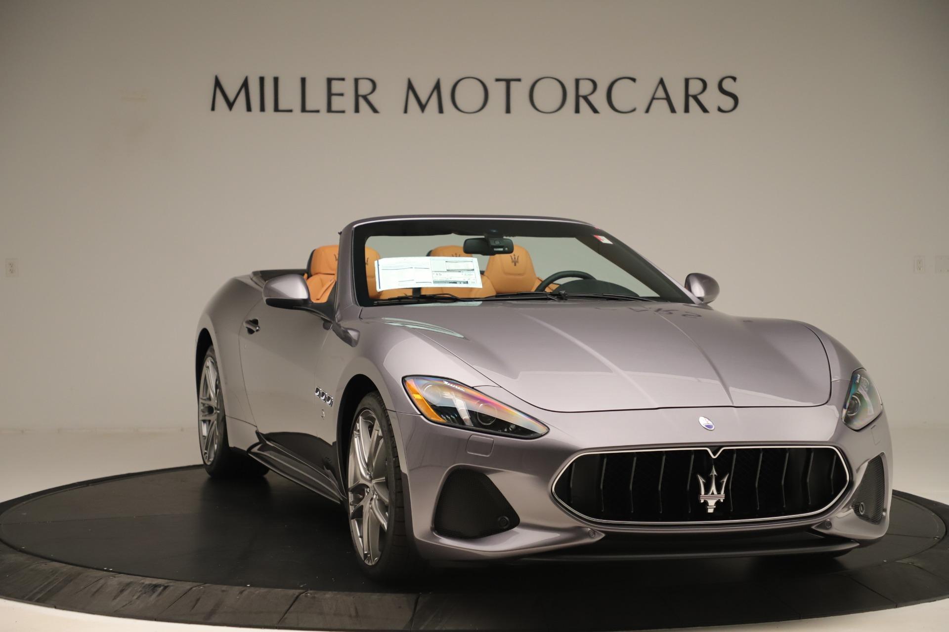 New 2019 Maserati GranTurismo Sport Convertible For Sale In Greenwich, CT 3410_p11