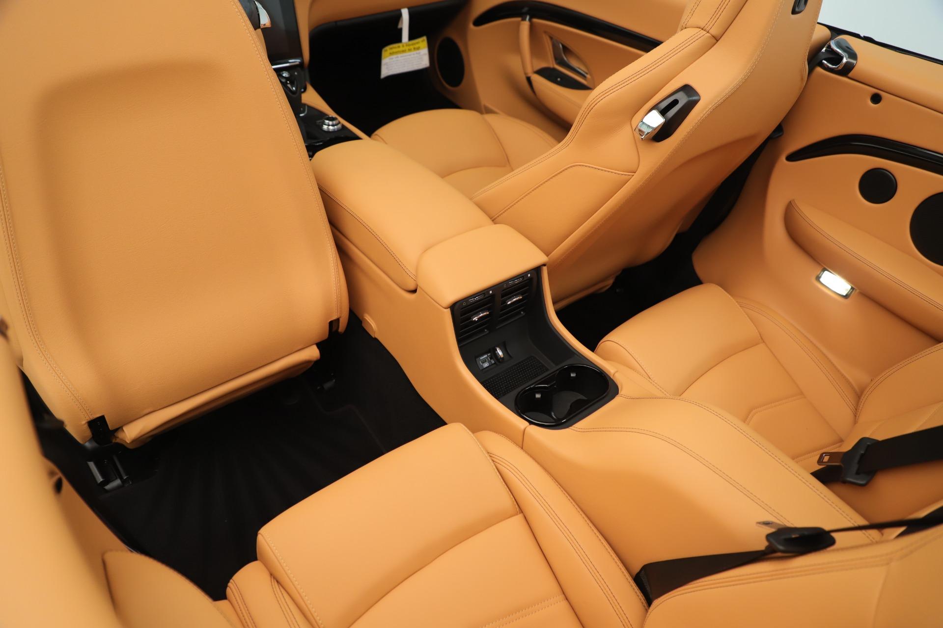 New 2019 Maserati GranTurismo Sport Convertible For Sale In Greenwich, CT 3410_p25