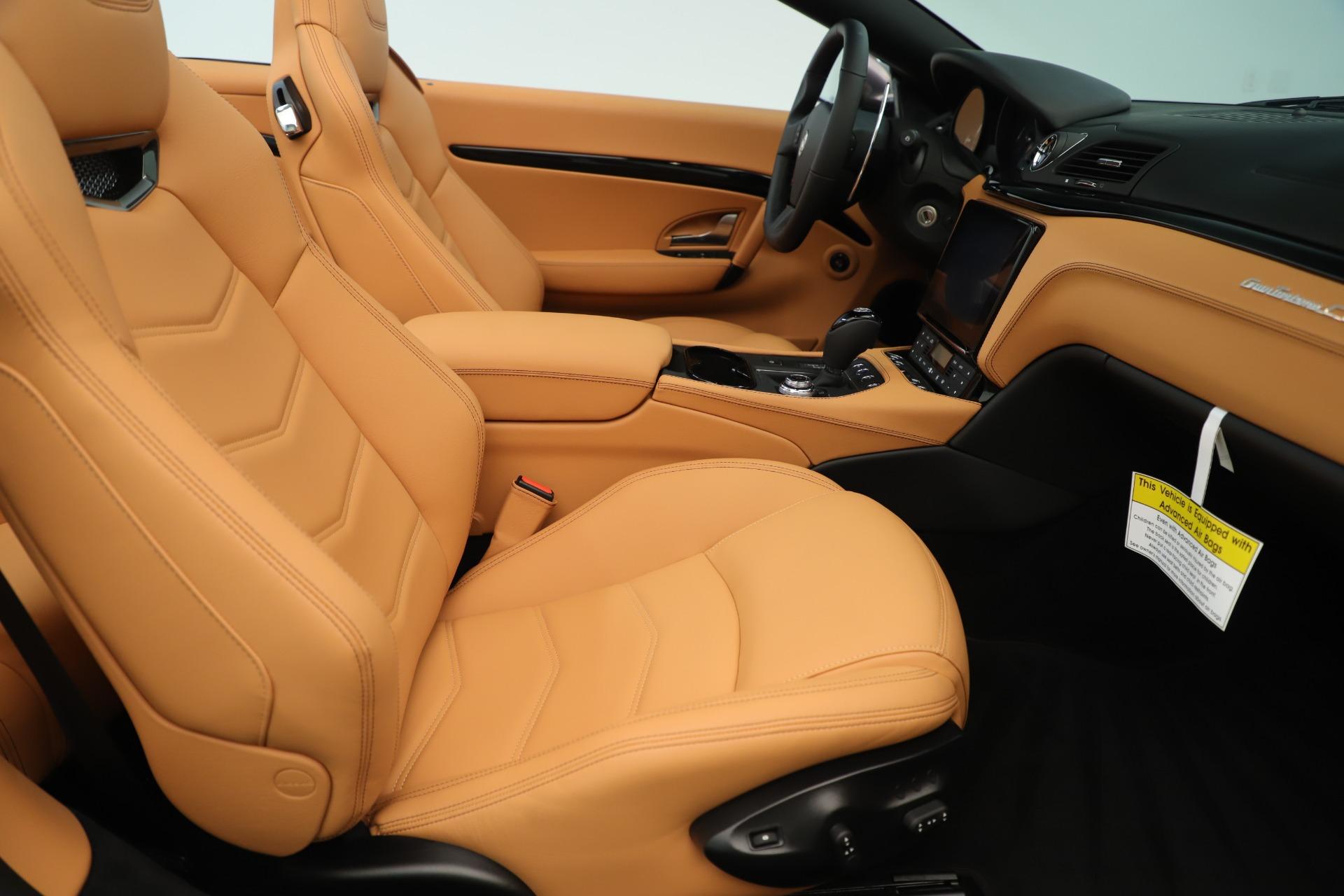 New 2019 Maserati GranTurismo Sport Convertible For Sale In Greenwich, CT 3410_p27