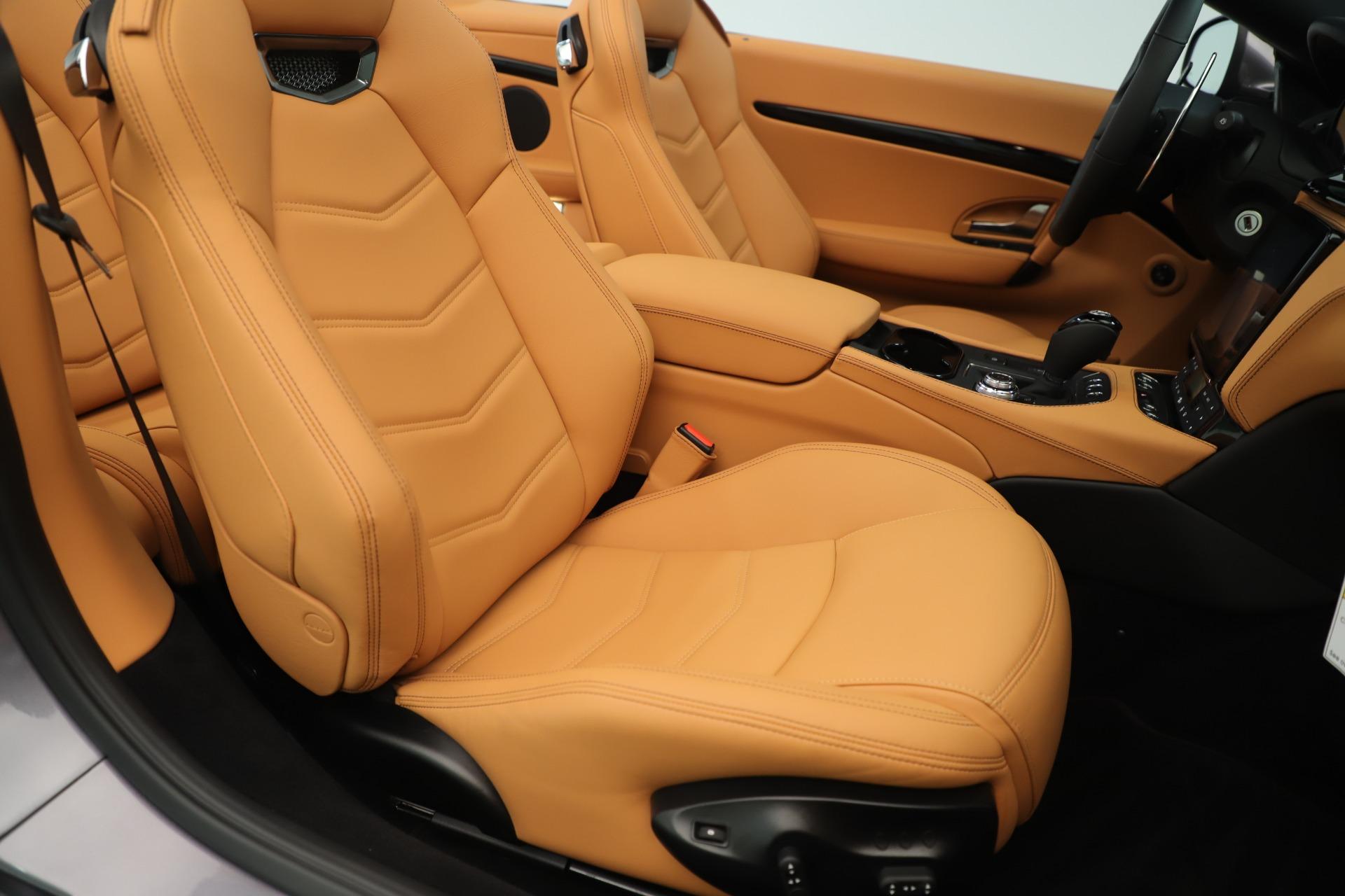 New 2019 Maserati GranTurismo Sport Convertible For Sale In Greenwich, CT 3410_p28