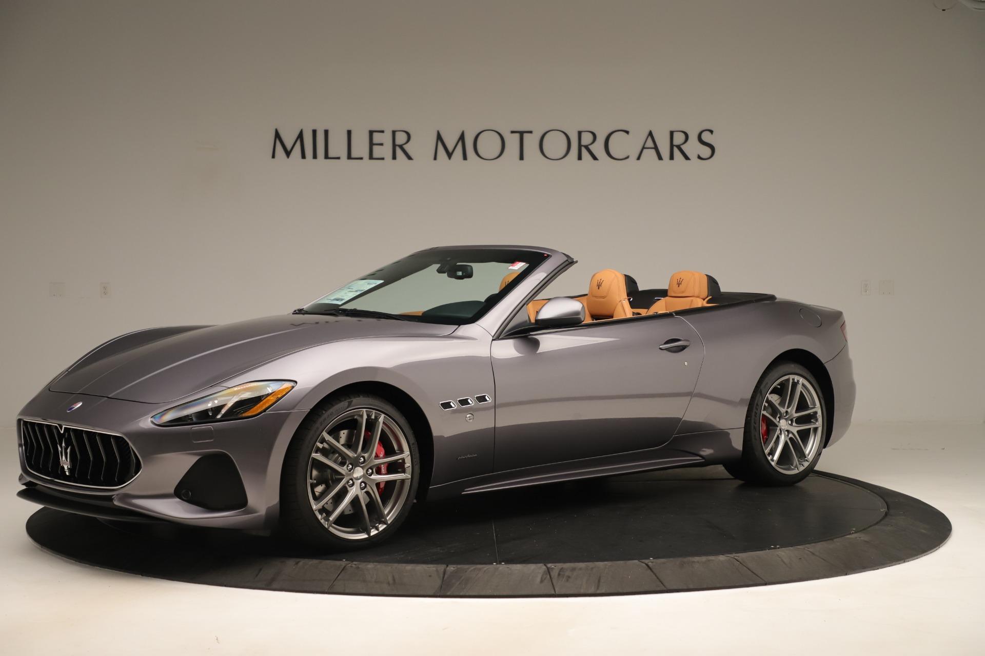 New 2019 Maserati GranTurismo Sport Convertible For Sale In Greenwich, CT 3410_p2