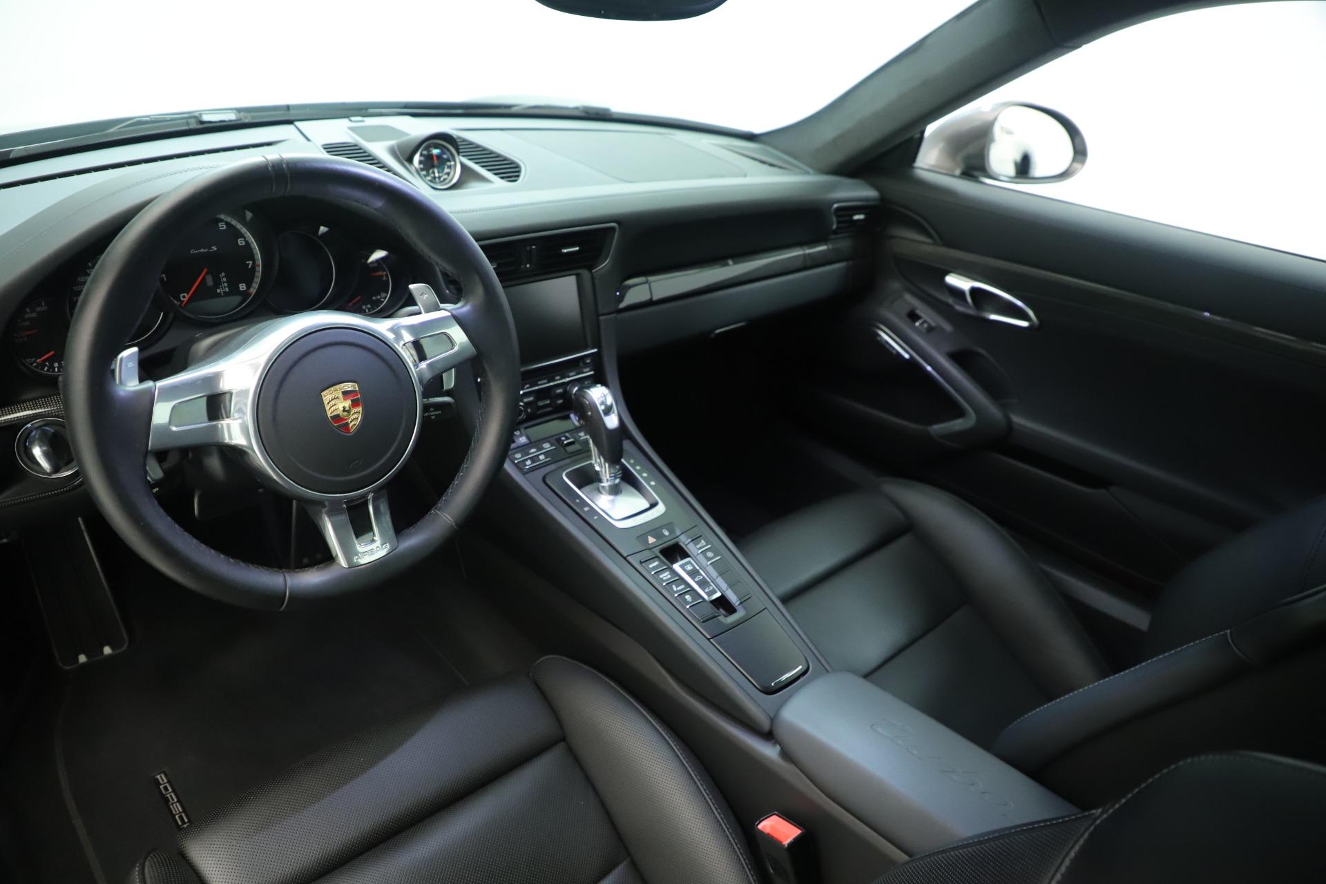 Used 2015 Porsche 911 Turbo S For Sale In Greenwich, CT 3429_p14