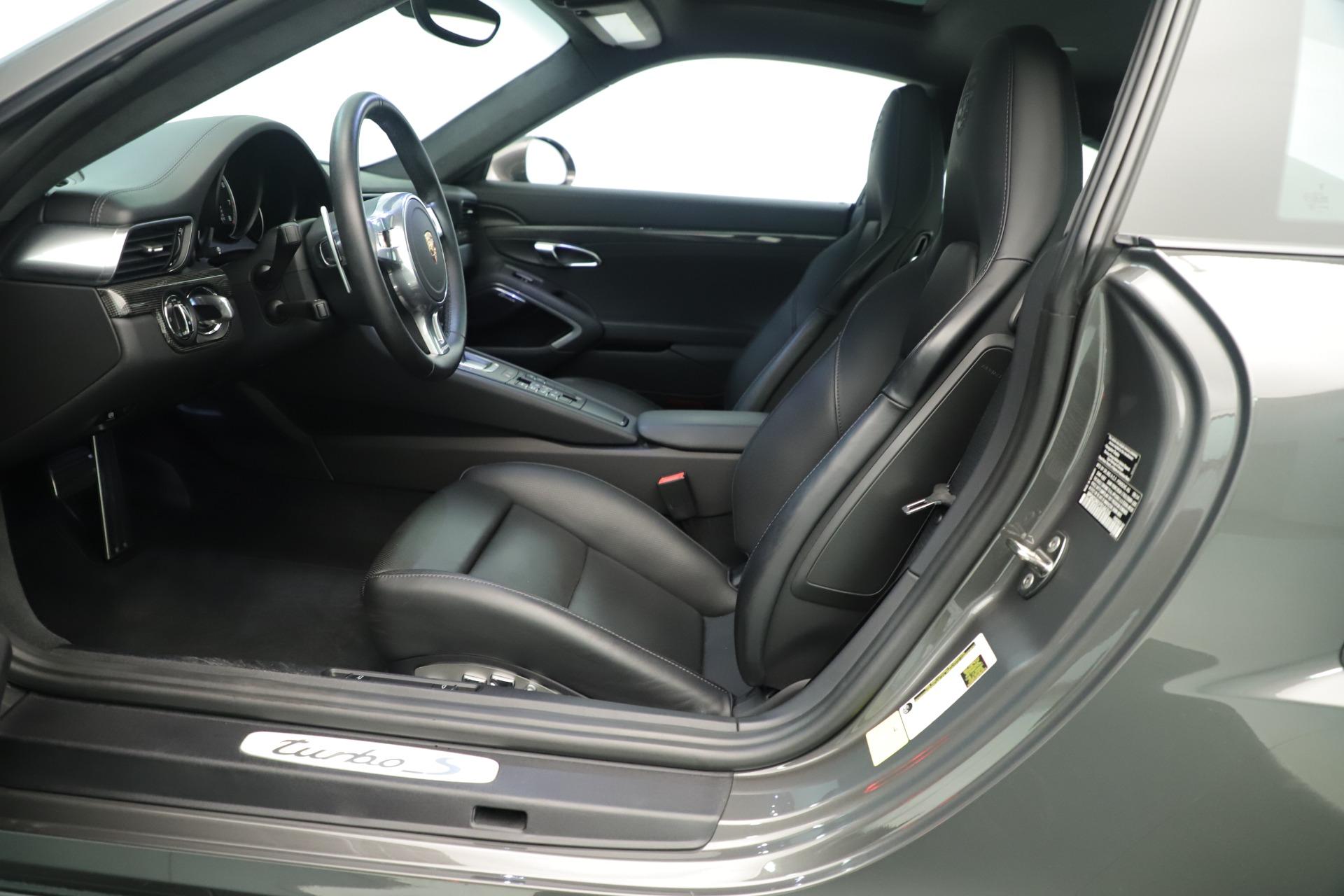 Used 2015 Porsche 911 Turbo S For Sale In Greenwich, CT 3429_p15