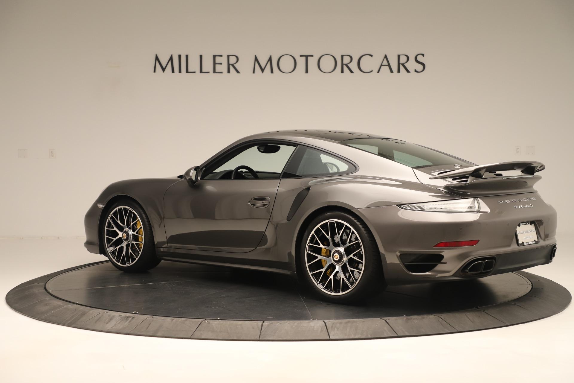 Used 2015 Porsche 911 Turbo S For Sale In Greenwich, CT 3429_p4