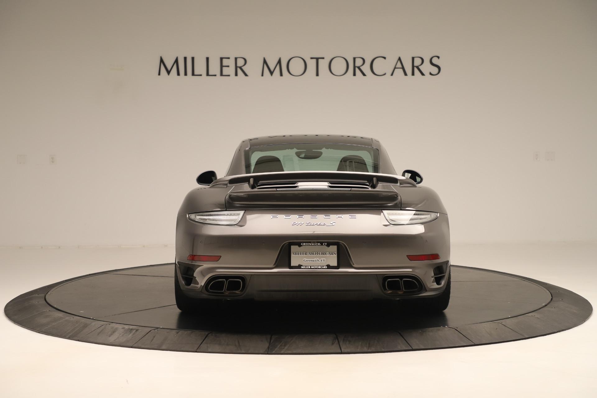 Used 2015 Porsche 911 Turbo S For Sale In Greenwich, CT 3429_p6