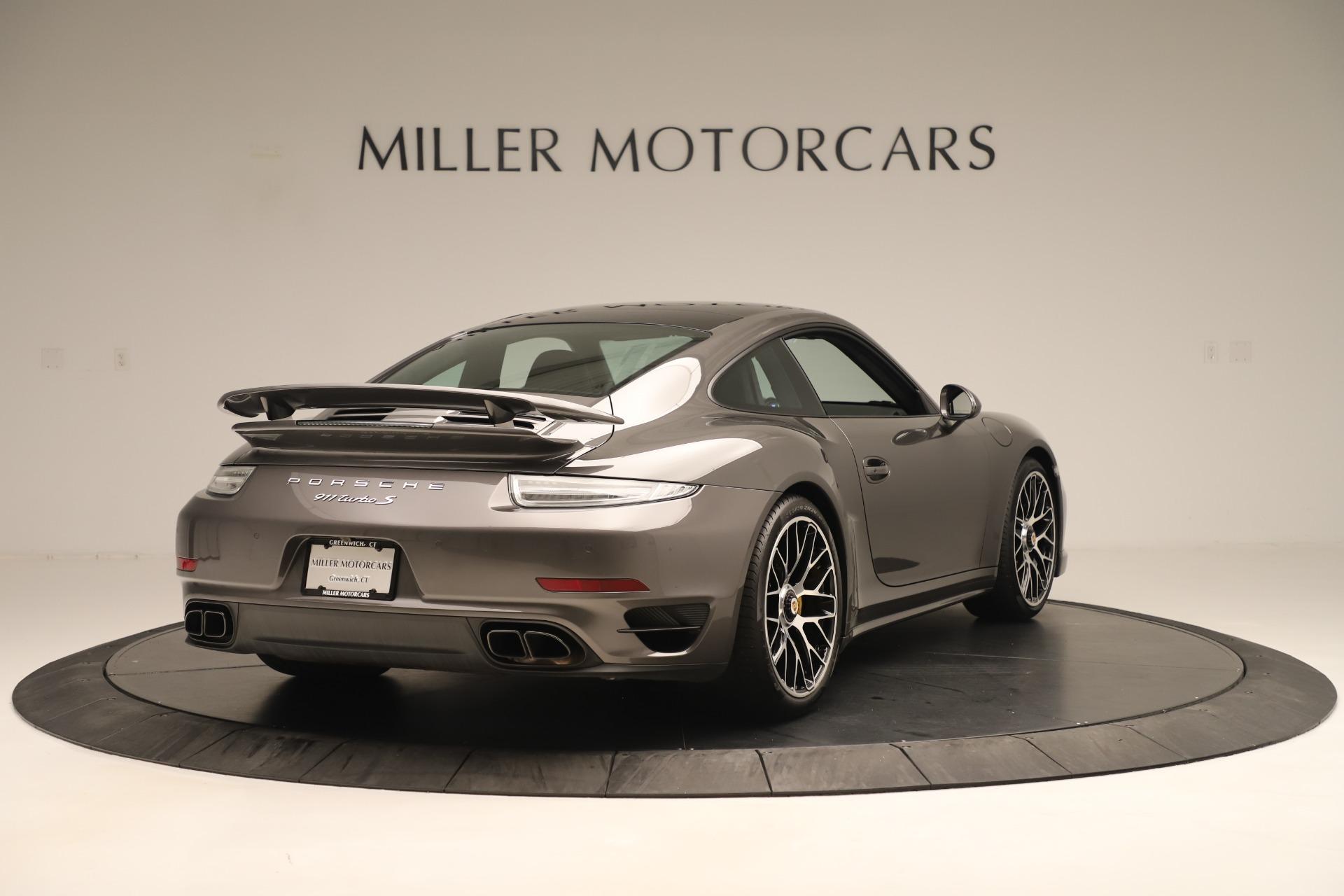 Used 2015 Porsche 911 Turbo S For Sale In Greenwich, CT 3429_p7