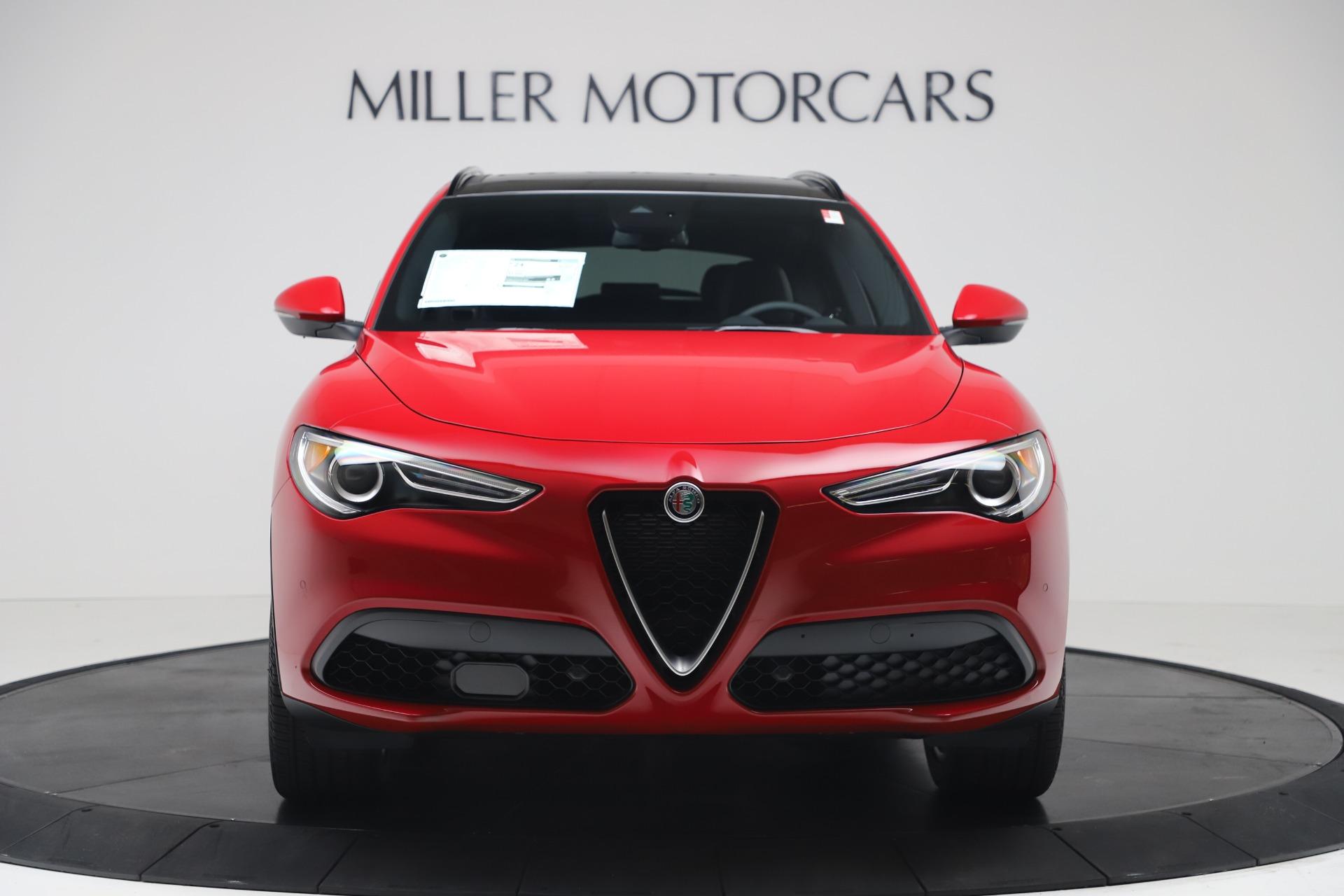 New 2019 Alfa Romeo Stelvio Ti Sport Q4 For Sale In Greenwich, CT 3437_p12