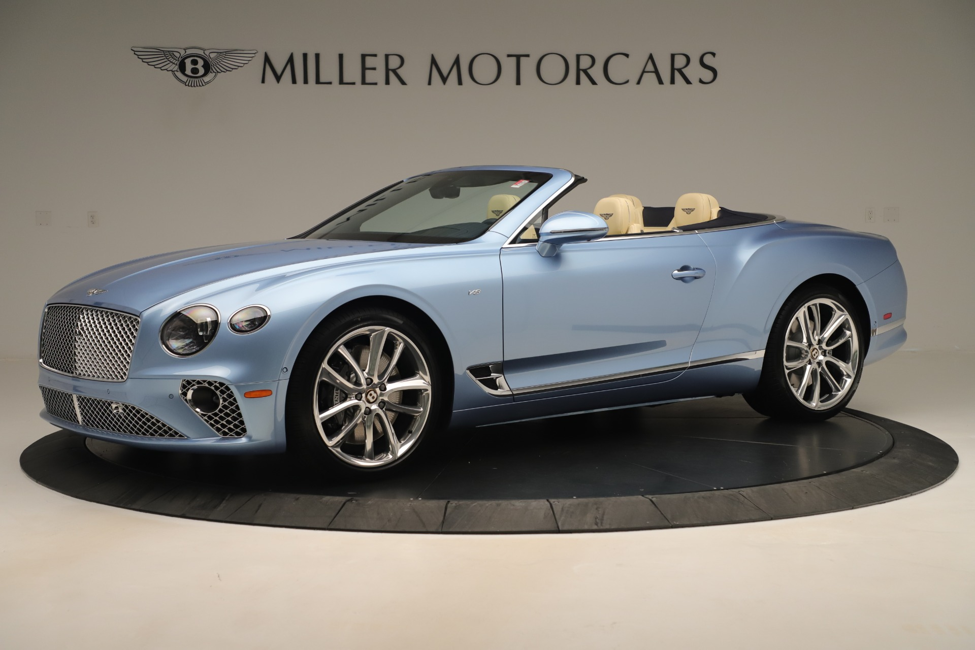 New 2020 Bentley Continental GTC V8 For Sale In Greenwich, CT 3472_p2