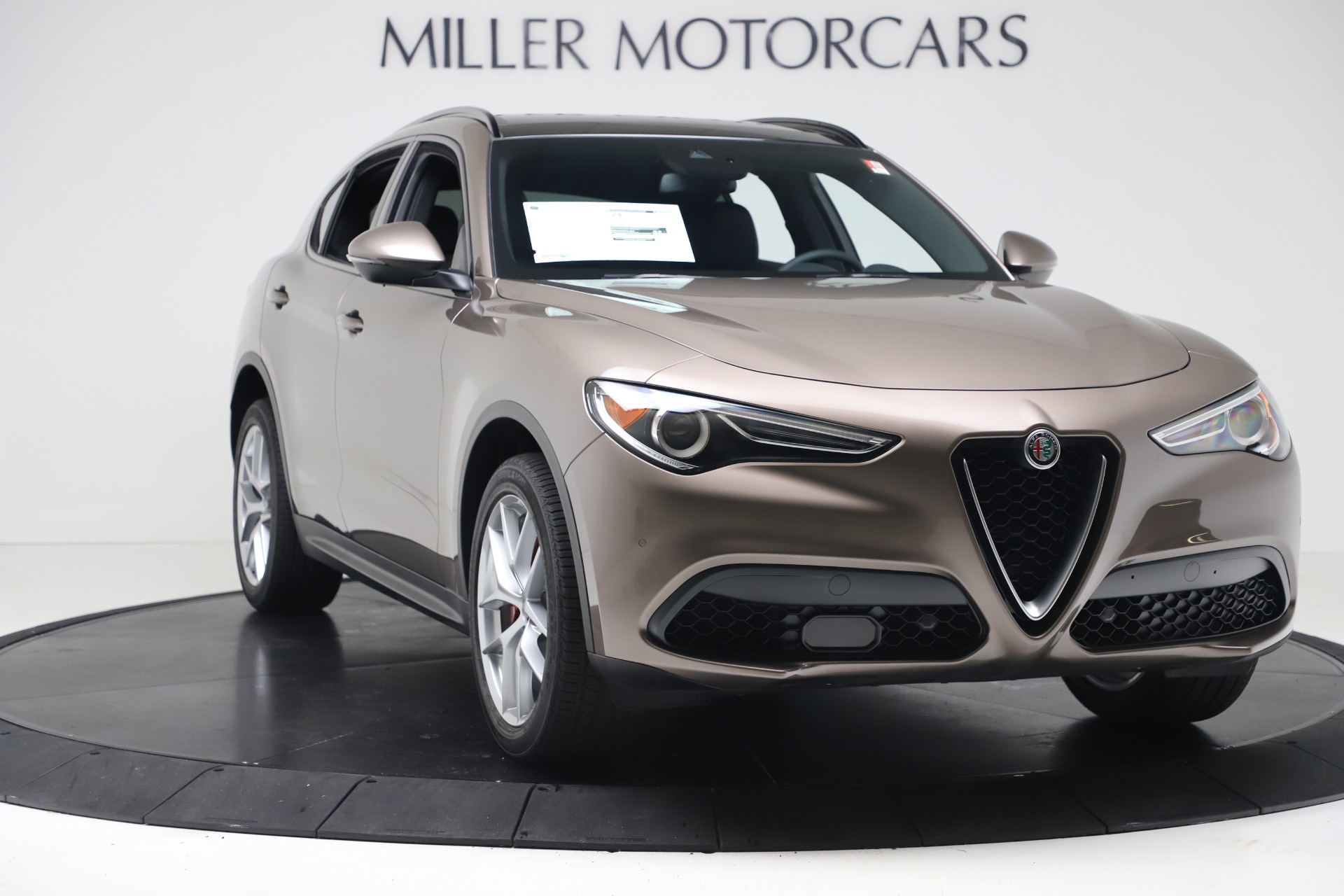 New 2019 Alfa Romeo Stelvio Ti Sport Q4 For Sale In Greenwich, CT 3489_p11