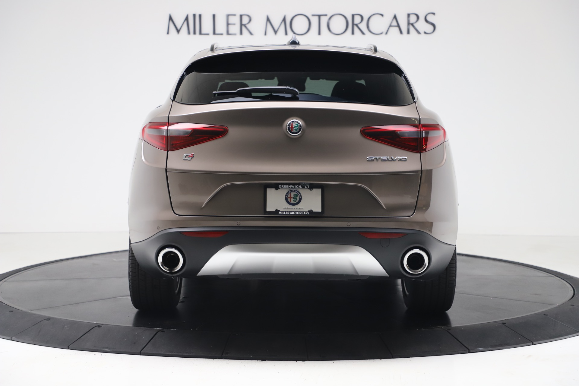 New 2019 Alfa Romeo Stelvio Ti Sport Q4 For Sale In Greenwich, CT 3489_p6