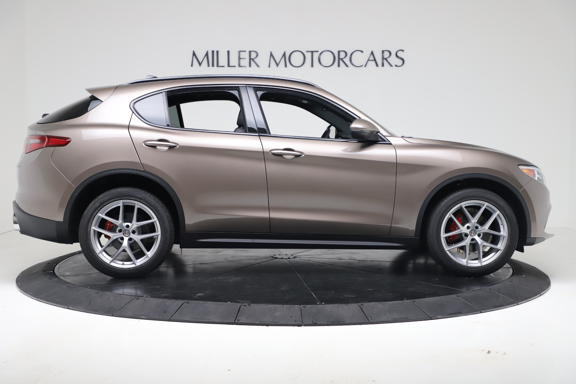 New 2019 Alfa Romeo Stelvio Ti Sport Q4 For Sale In Greenwich, CT 3489_p9