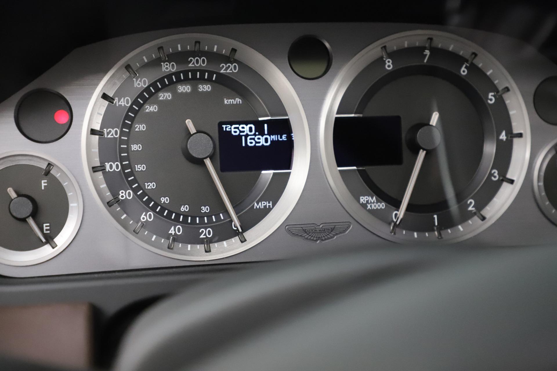 Used 2012 Aston Martin Virage Volante For Sale In Greenwich, CT 3515_p27