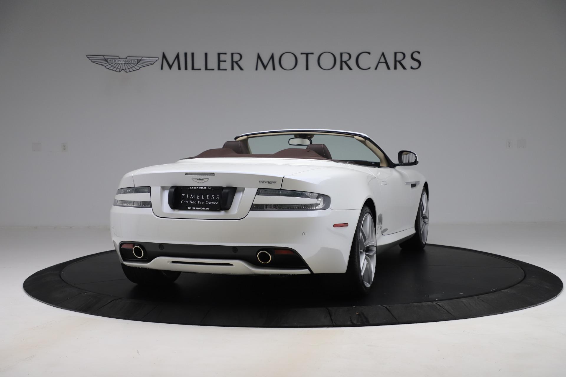 Used 2012 Aston Martin Virage Volante For Sale In Greenwich, CT 3515_p7