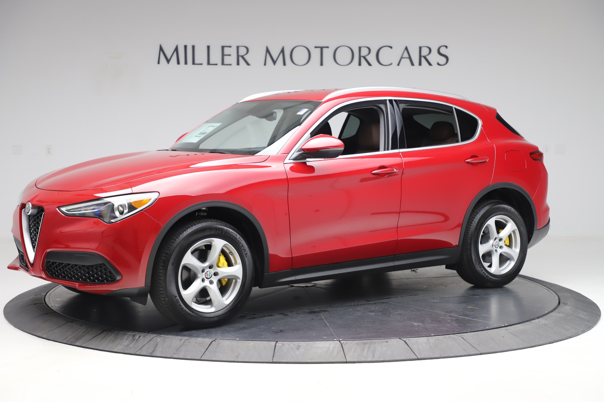 New 2019 Alfa Romeo Stelvio Q4 For Sale In Greenwich, CT 3530_p2