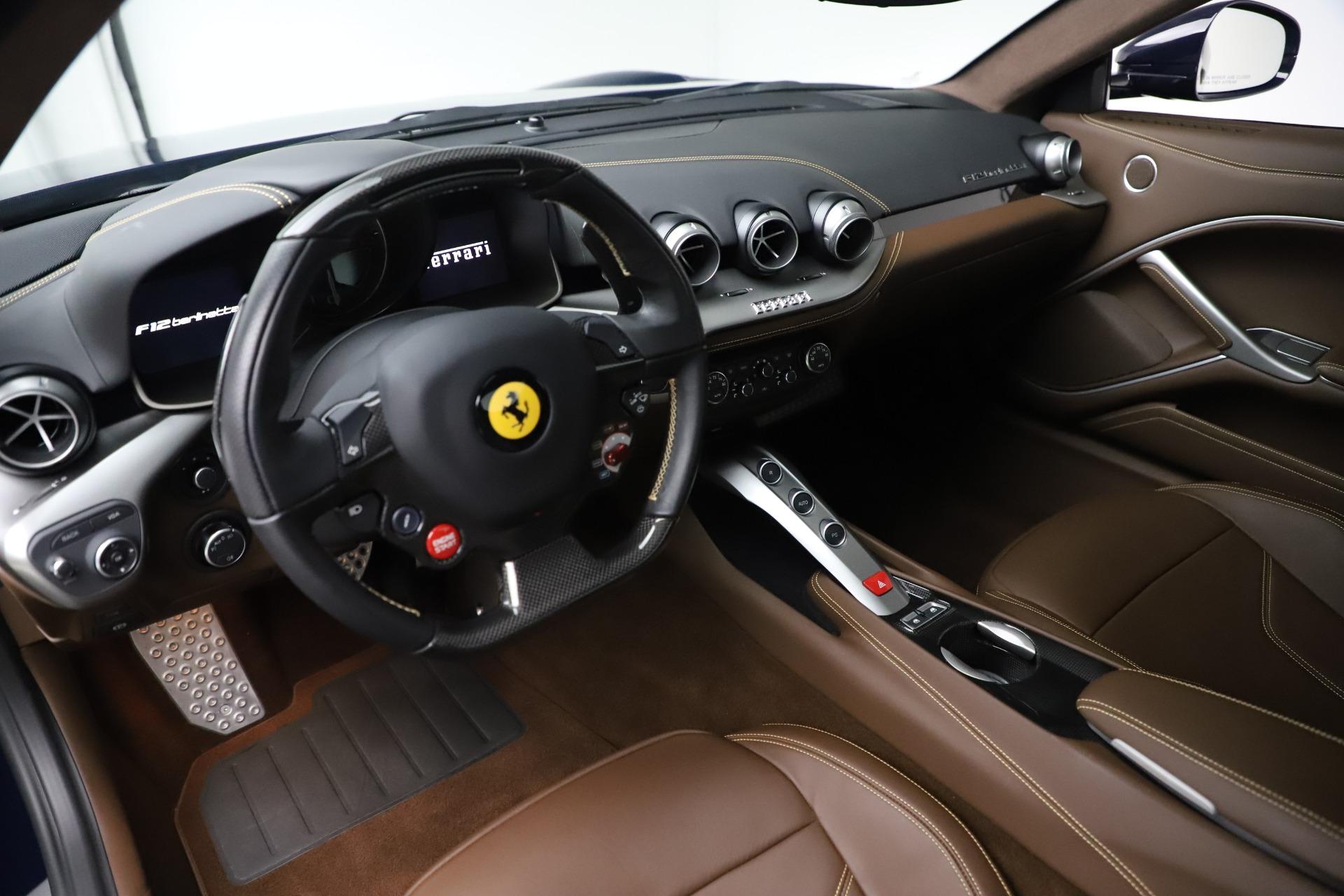Used 2017 Ferrari F12 Berlinetta  For Sale In Greenwich, CT 3563_p13