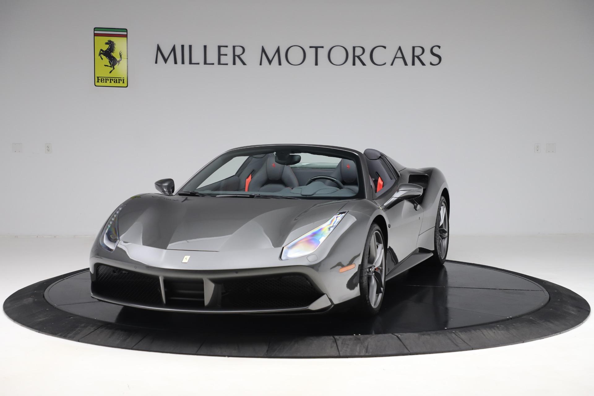 Used 2018 Ferrari 488 Spider  For Sale In Greenwich, CT 3584_main