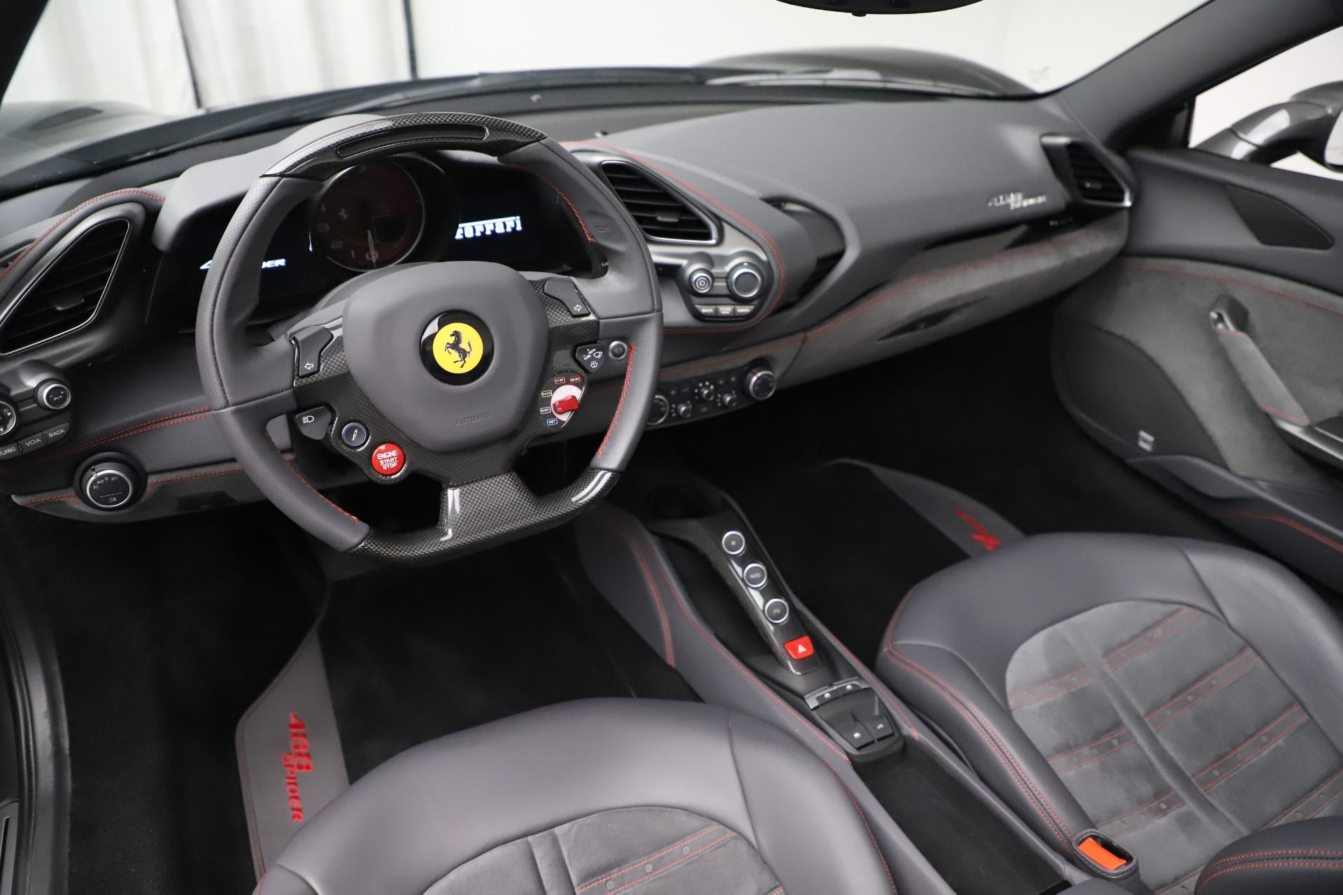 Used 2018 Ferrari 488 Spider  For Sale In Greenwich, CT 3584_p19
