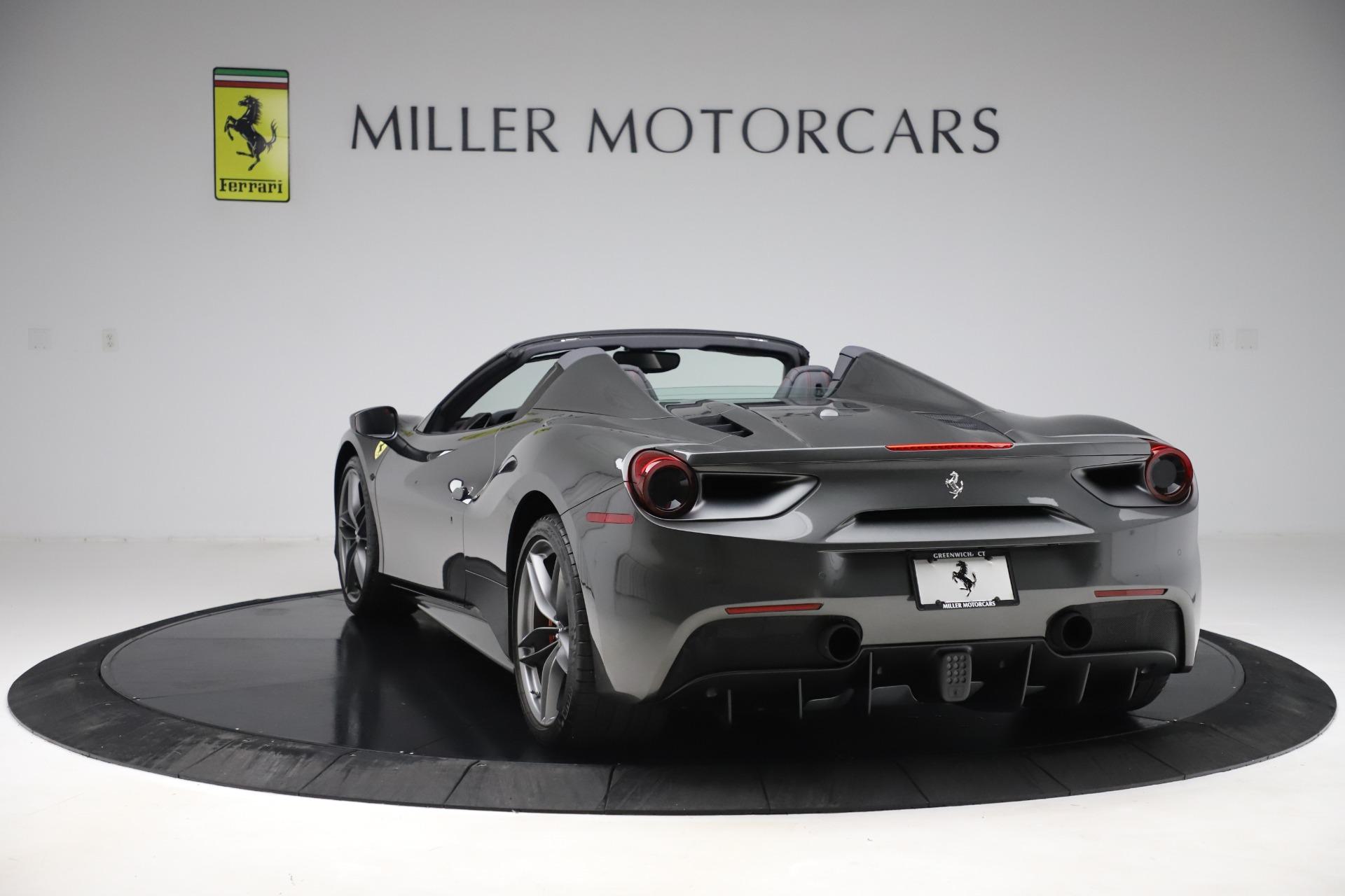 Used 2018 Ferrari 488 Spider  For Sale In Greenwich, CT 3584_p5