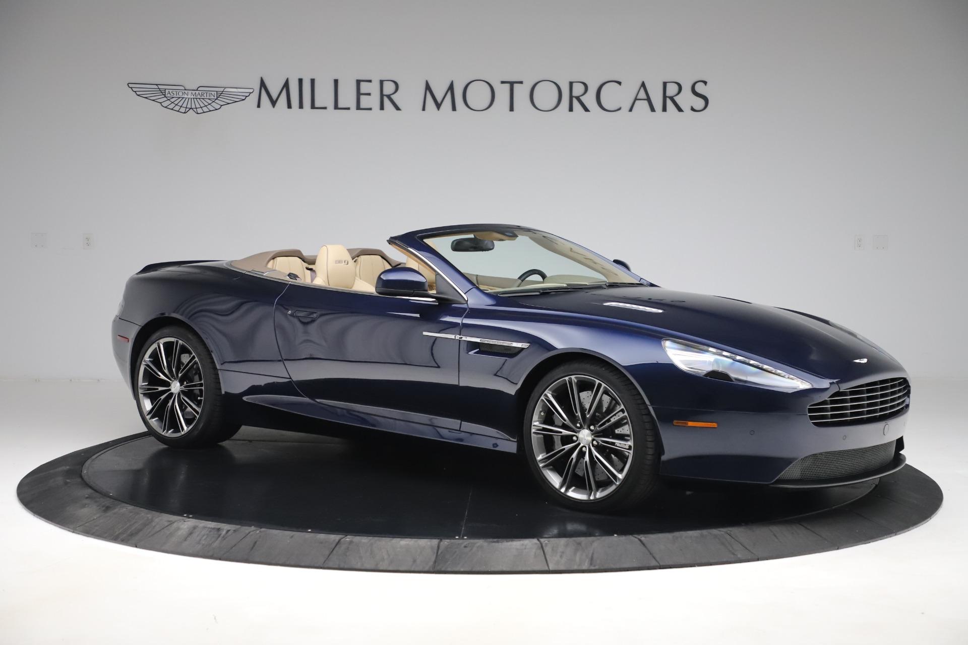 Used 2014 Aston Martin DB9 Volante For Sale In Greenwich, CT 3591_p10