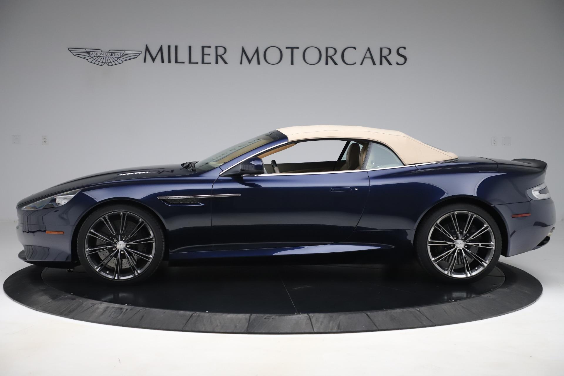 Used 2014 Aston Martin DB9 Volante For Sale In Greenwich, CT 3591_p14