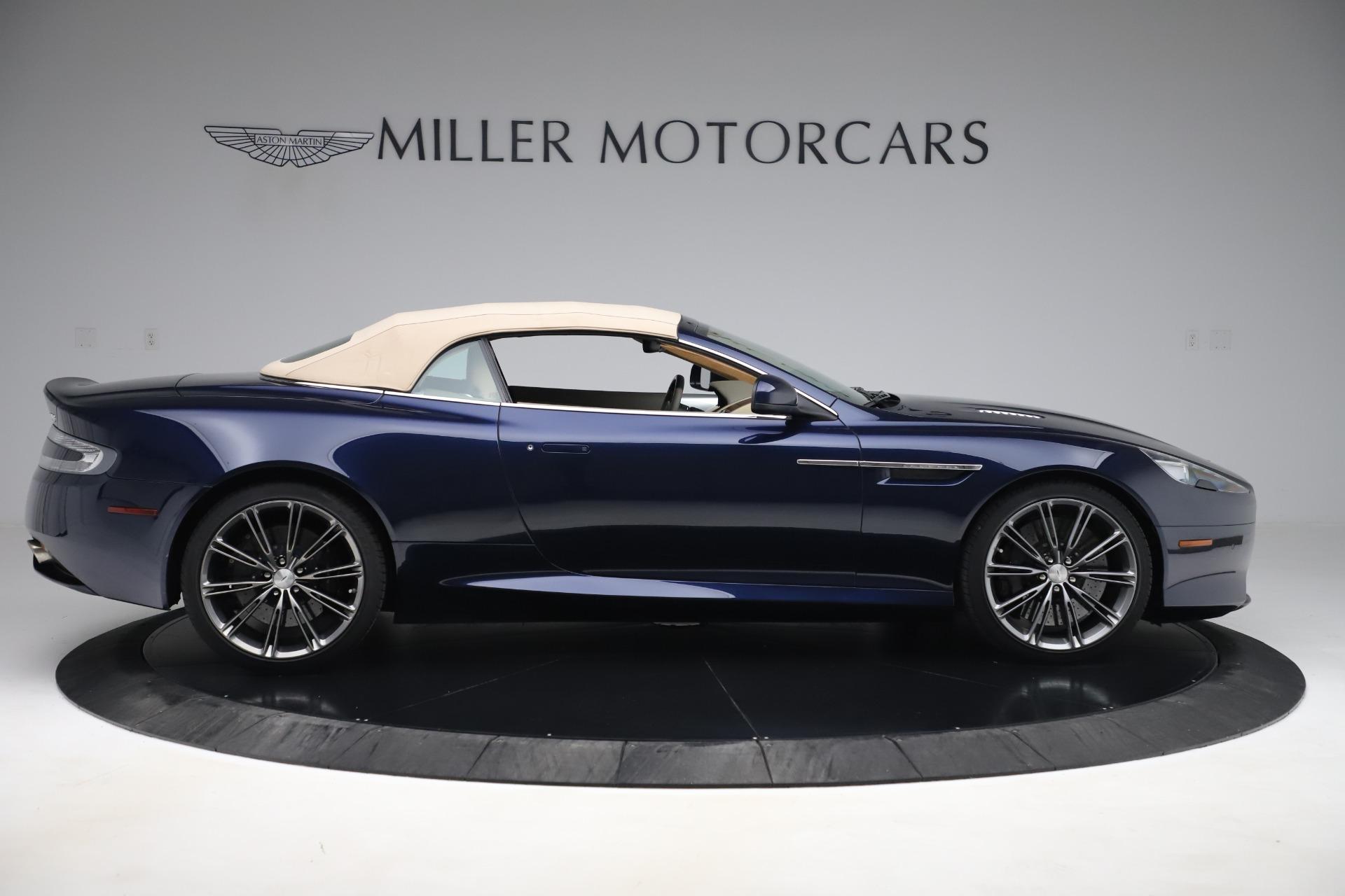 Used 2014 Aston Martin DB9 Volante For Sale In Greenwich, CT 3591_p17