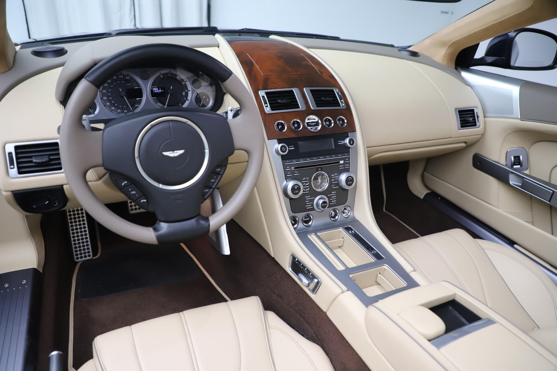 Used 2014 Aston Martin DB9 Volante For Sale In Greenwich, CT 3591_p19