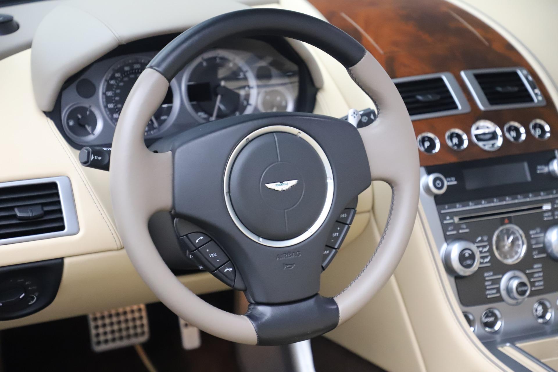 Used 2014 Aston Martin DB9 Volante For Sale In Greenwich, CT 3591_p22