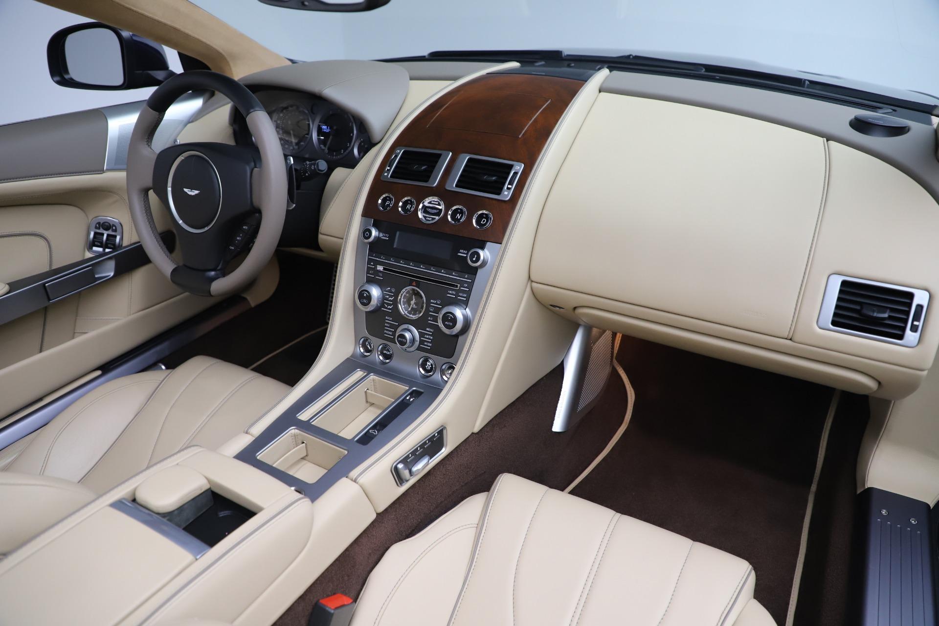 Used 2014 Aston Martin DB9 Volante For Sale In Greenwich, CT 3591_p25