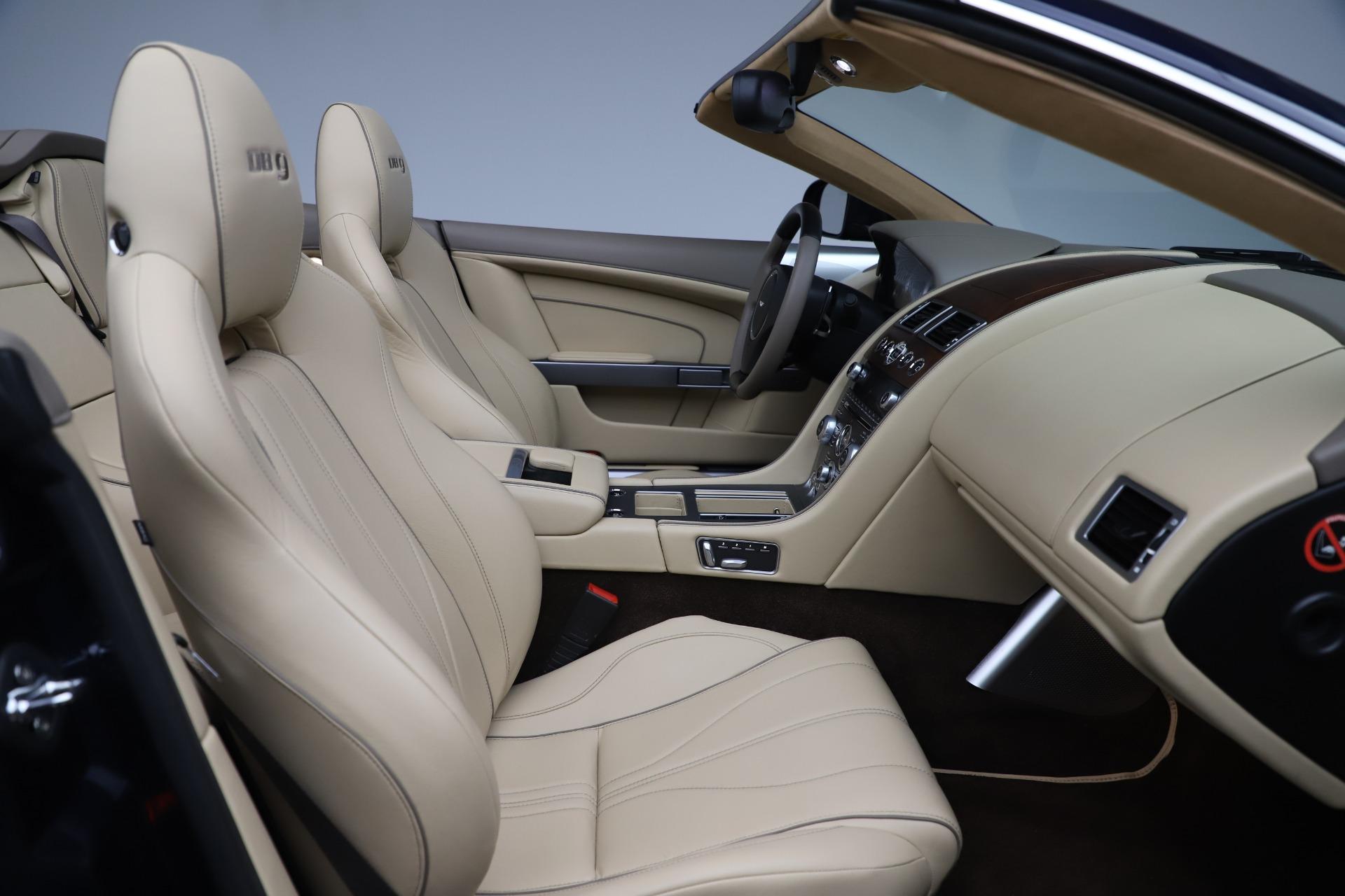 Used 2014 Aston Martin DB9 Volante For Sale In Greenwich, CT 3591_p26