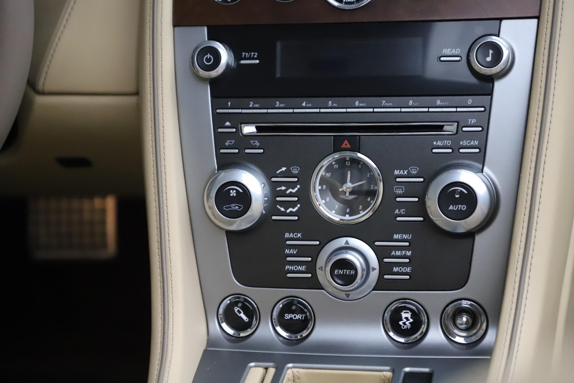 Used 2014 Aston Martin DB9 Volante For Sale In Greenwich, CT 3591_p30