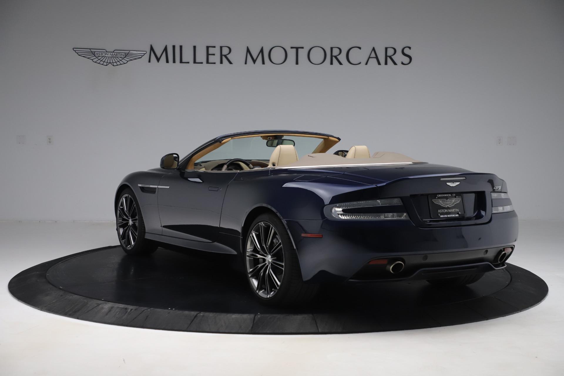 Used 2014 Aston Martin DB9 Volante For Sale In Greenwich, CT 3591_p5