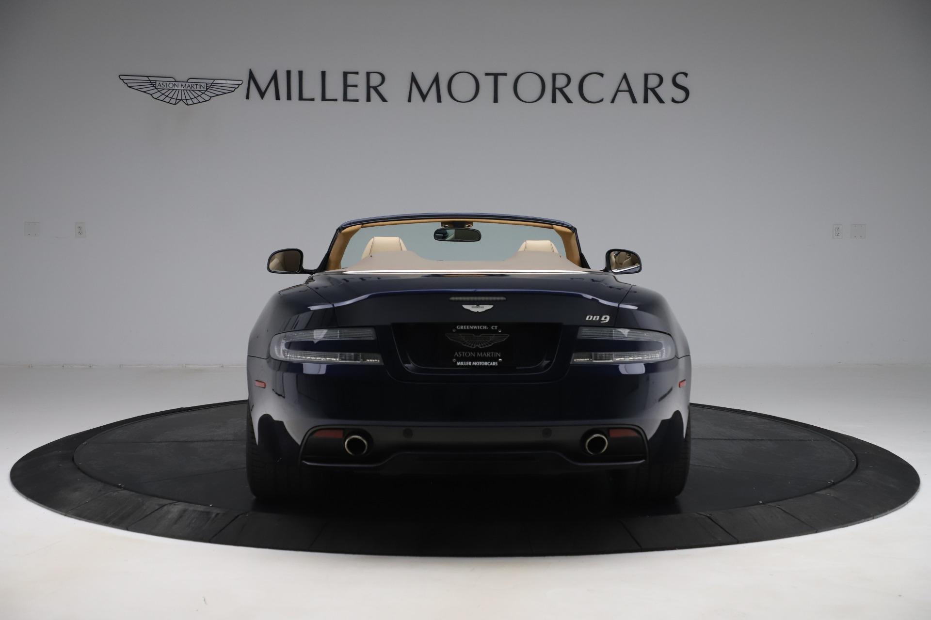 Used 2014 Aston Martin DB9 Volante For Sale In Greenwich, CT 3591_p6