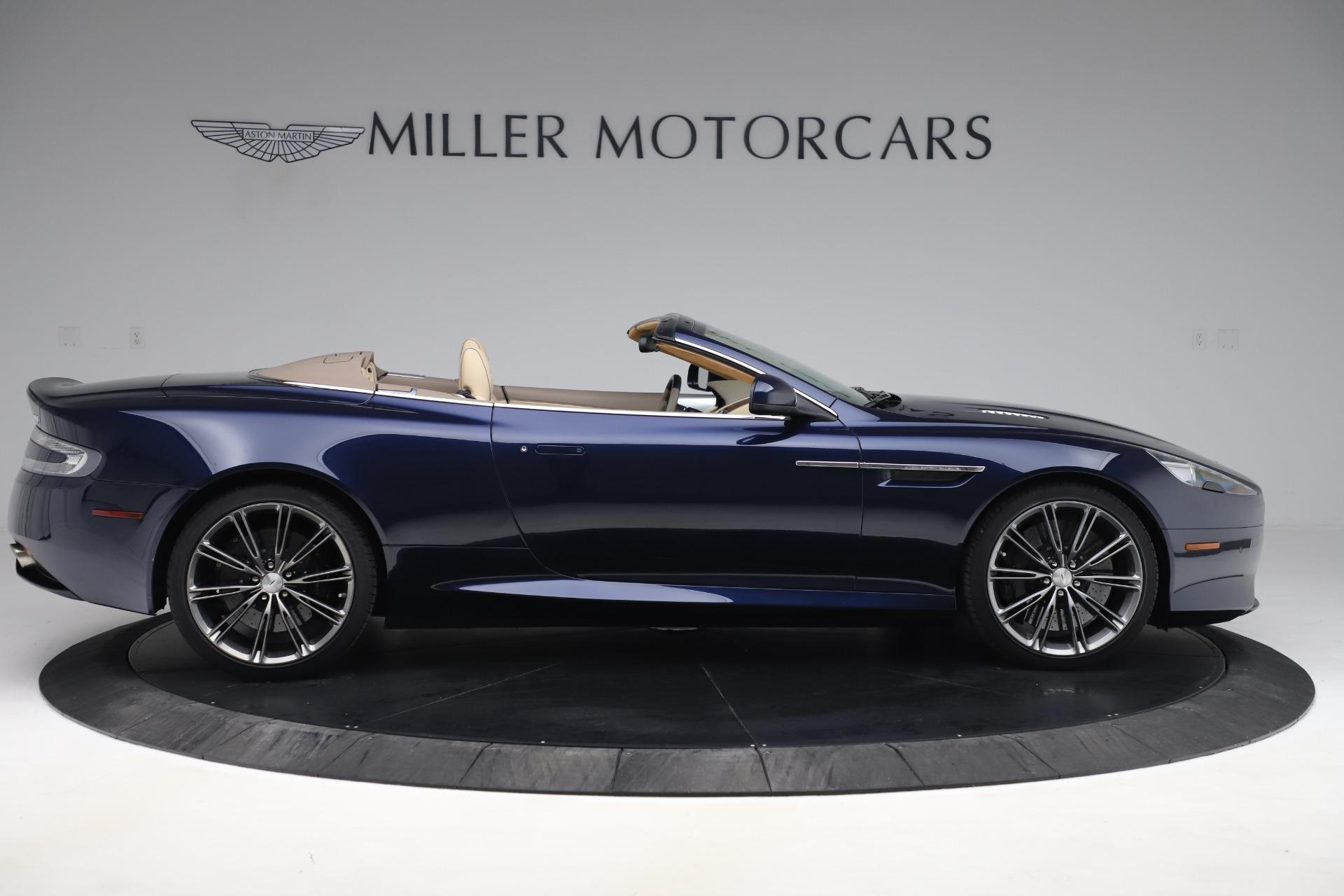 Used 2014 Aston Martin DB9 Volante For Sale In Greenwich, CT 3591_p9