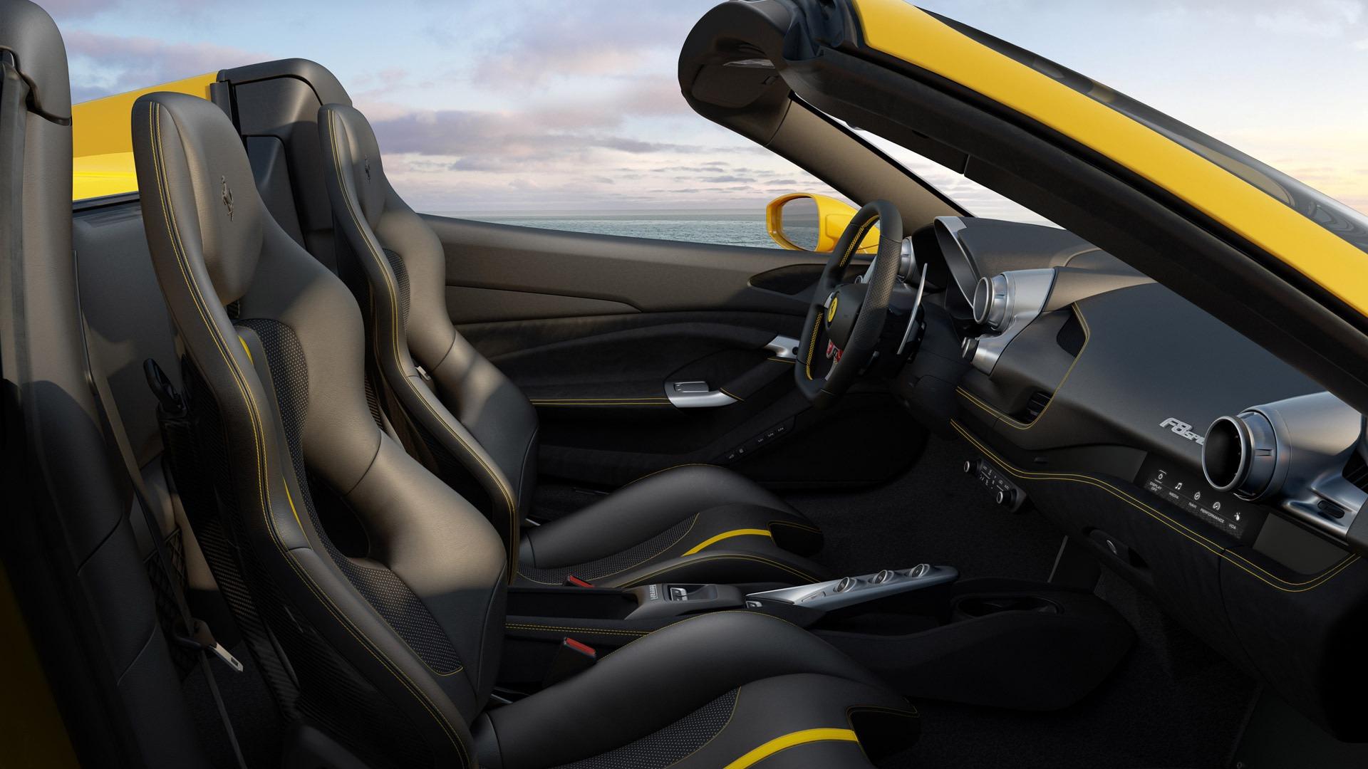 New 2020 Ferrari F8 Spider  For Sale In Greenwich, CT 3592_p7