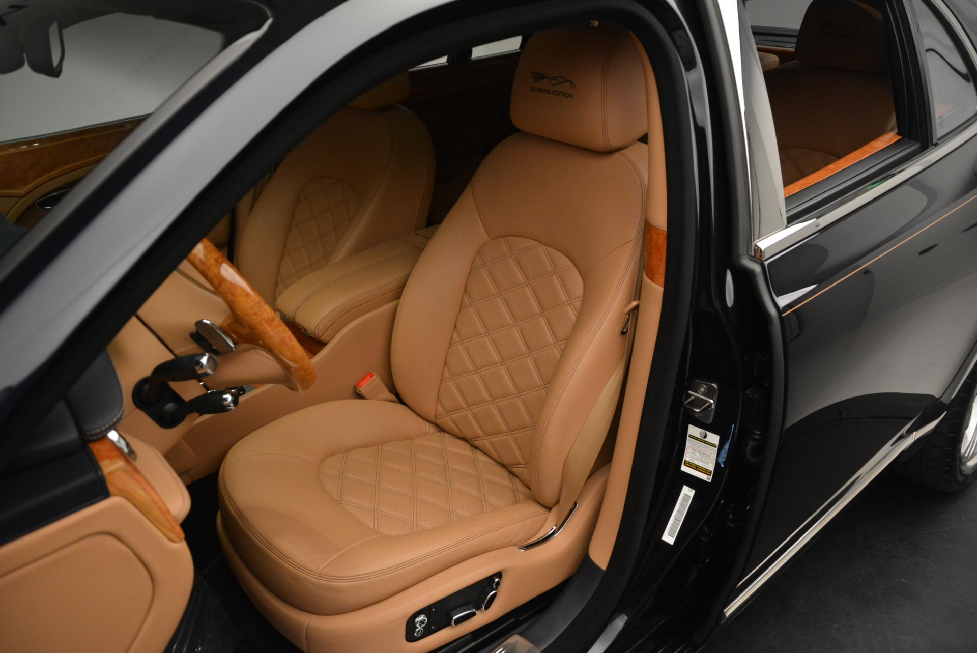 Used 2013 Bentley Mulsanne Le Mans Edition- Number 1 of 48 For Sale In Greenwich, CT 40_p20