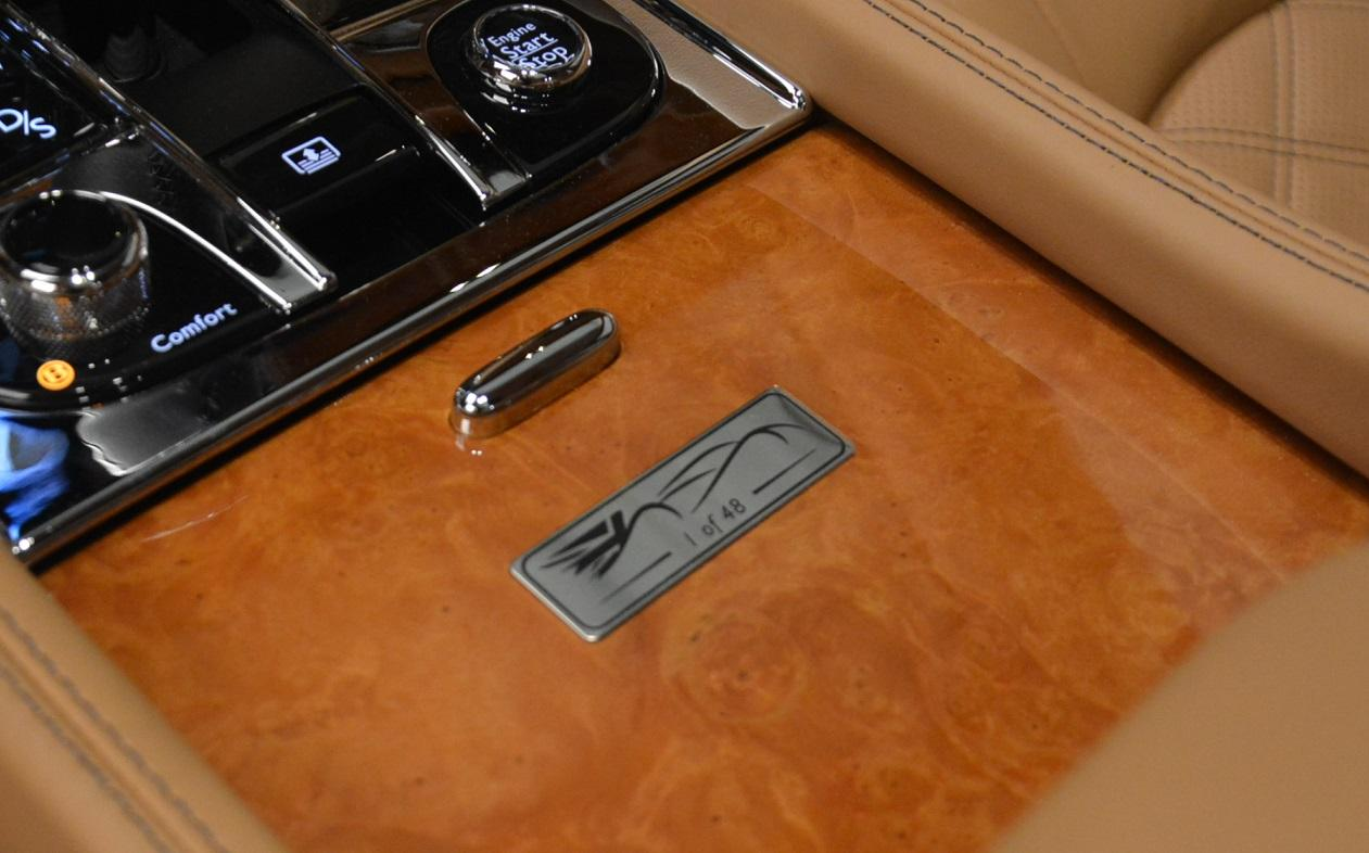 Used 2013 Bentley Mulsanne Le Mans Edition- Number 1 of 48 For Sale In Greenwich, CT 40_p31