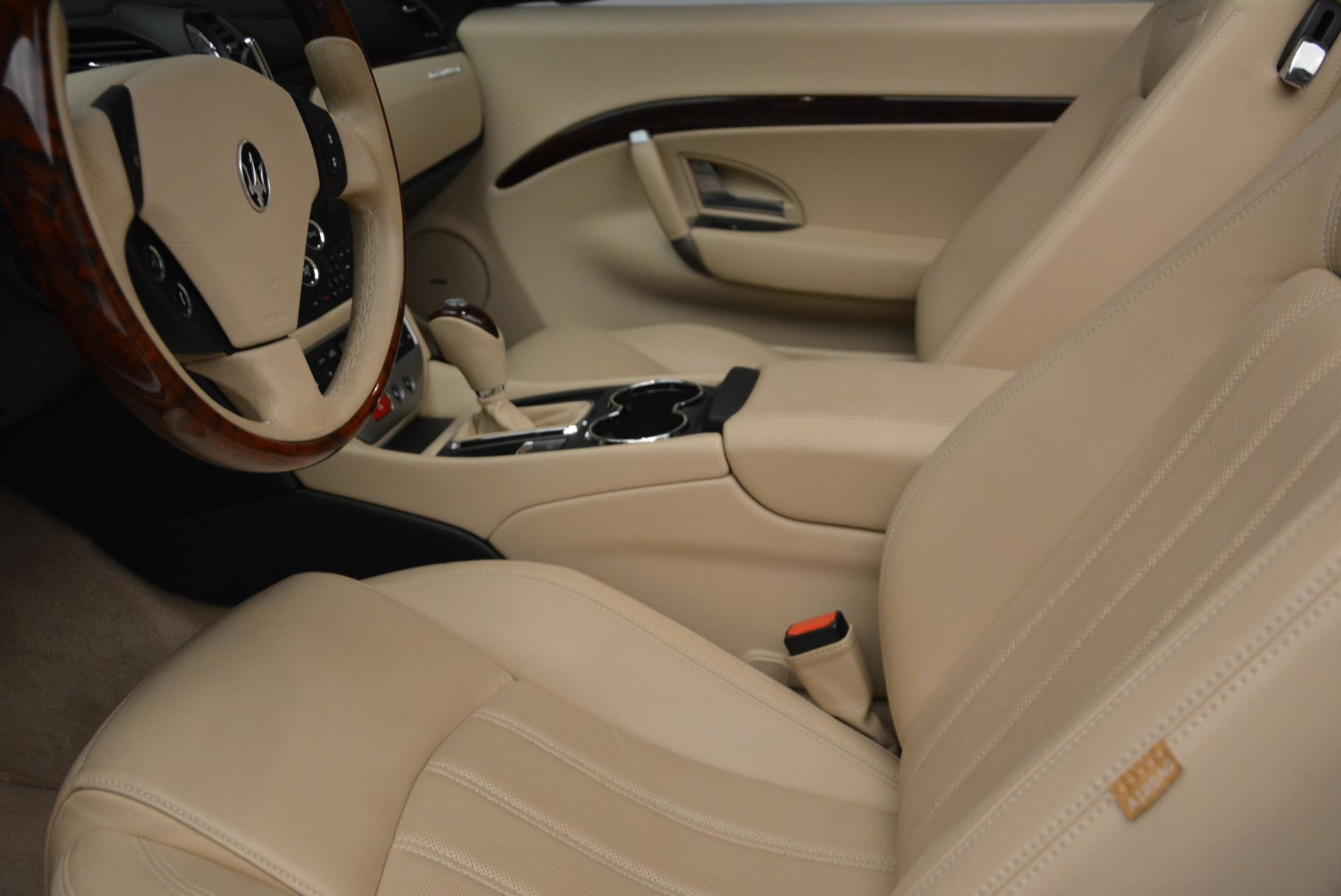 Used 2011 Maserati GranTurismo  For Sale In Greenwich, CT 45_p26