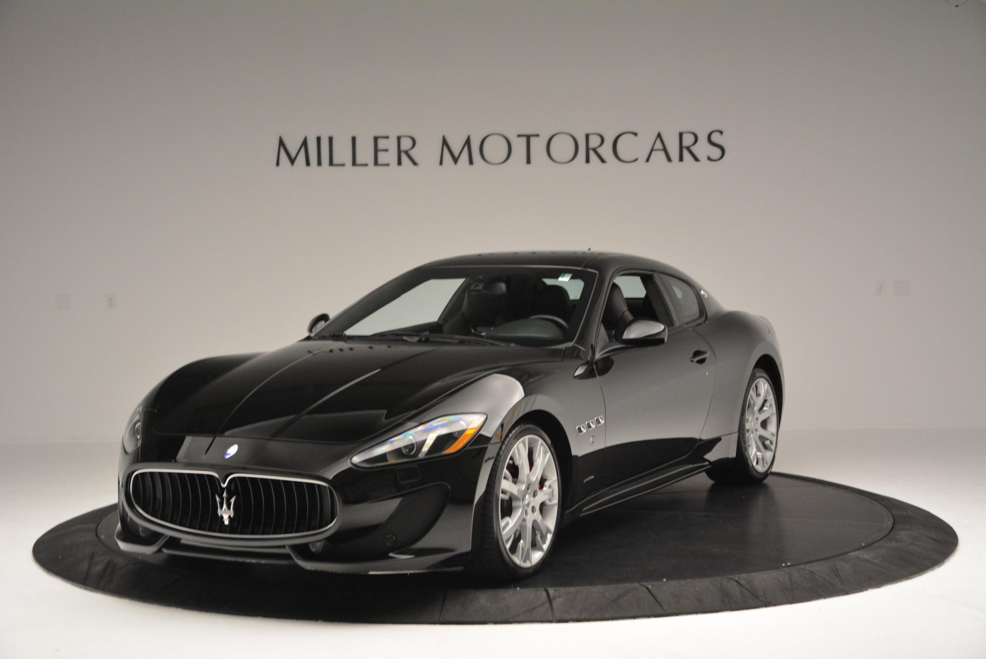 Used 2013 Maserati GranTurismo Sport For Sale In Greenwich, CT 46_main