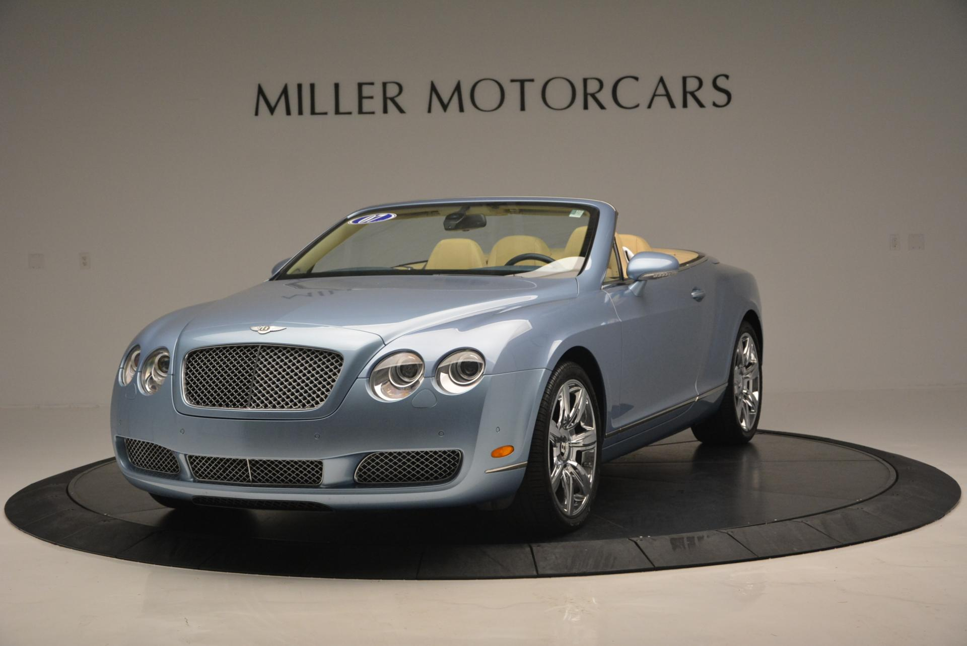 Used 2007 Bentley Continental GTC  For Sale In Greenwich, CT 495_main