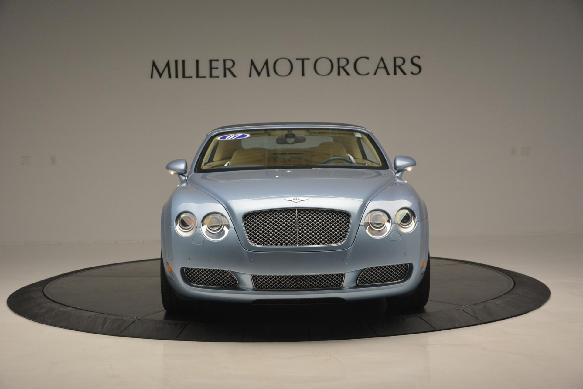 Used 2007 Bentley Continental GTC  For Sale In Greenwich, CT 495_p12