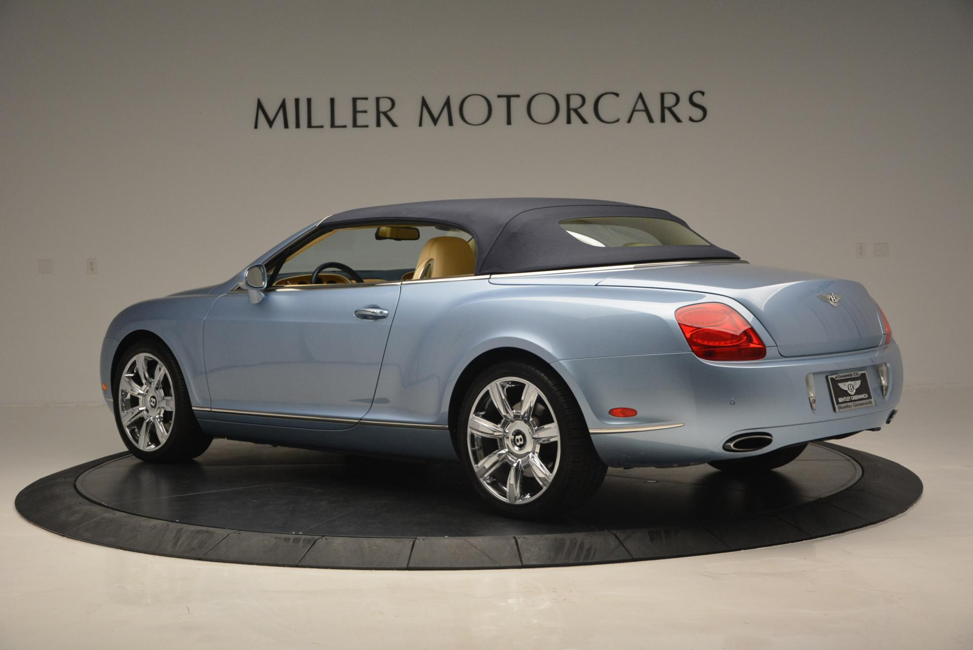 Used 2007 Bentley Continental GTC  For Sale In Greenwich, CT 495_p16
