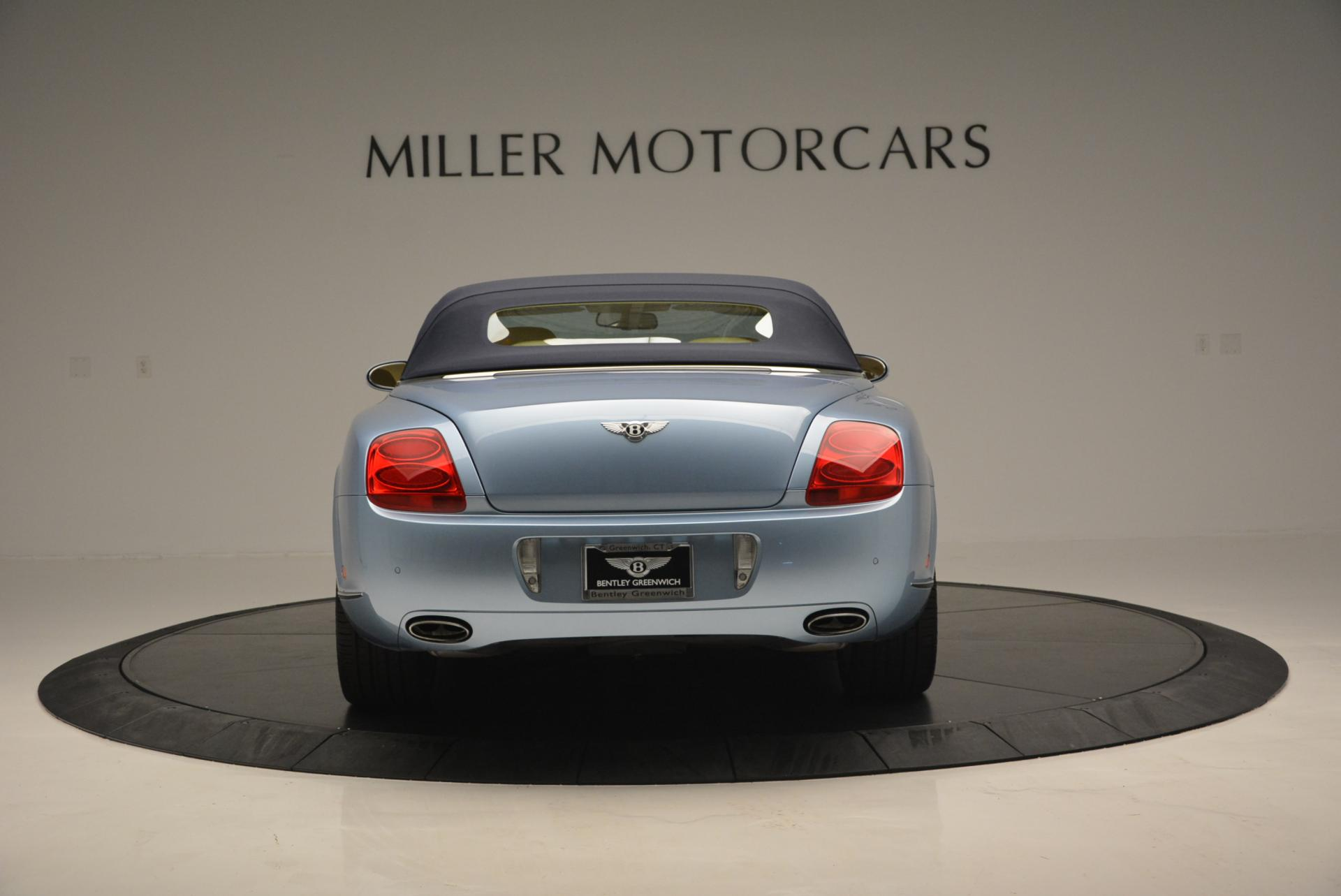Used 2007 Bentley Continental GTC  For Sale In Greenwich, CT 495_p18