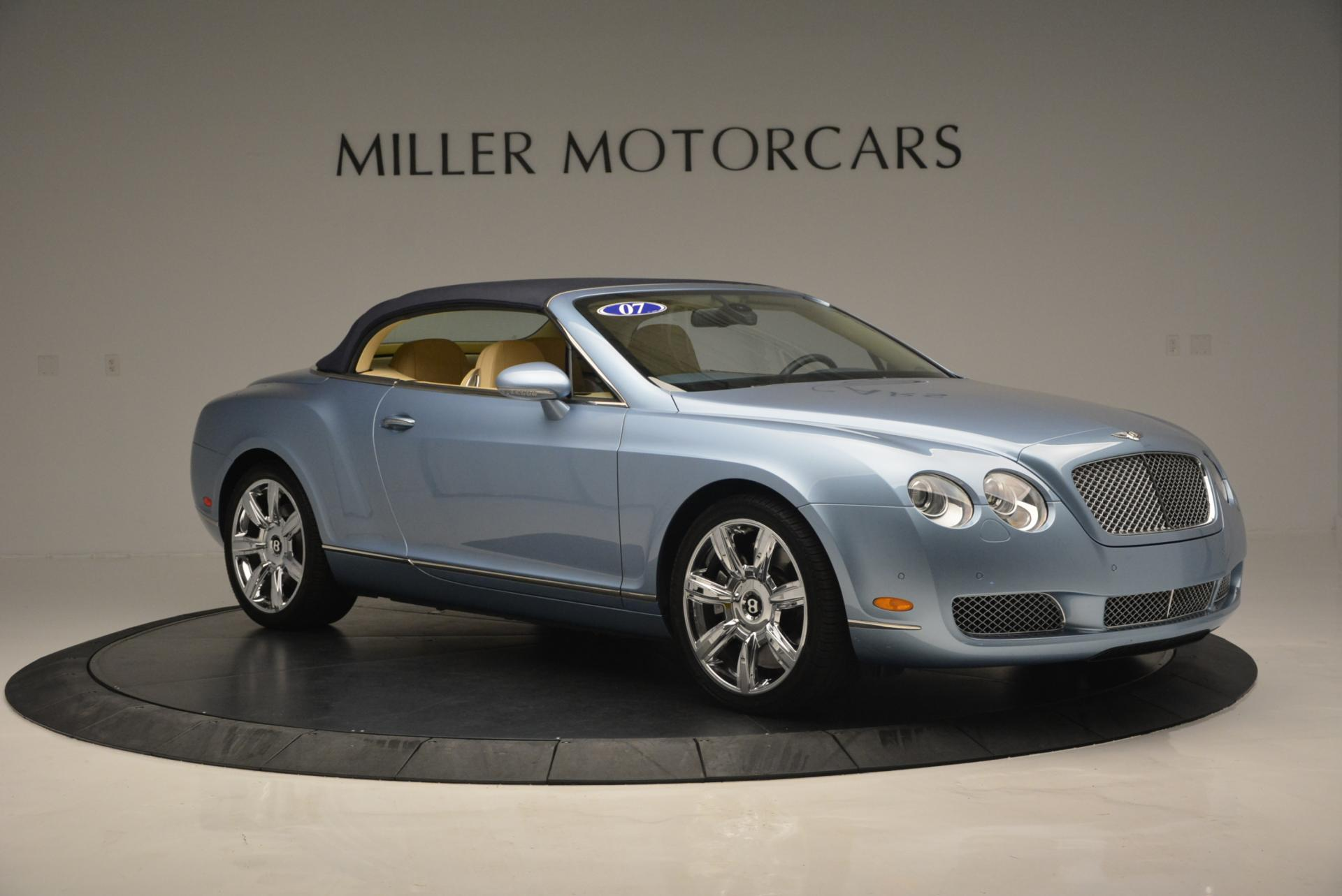 Used 2007 Bentley Continental GTC  For Sale In Greenwich, CT 495_p22