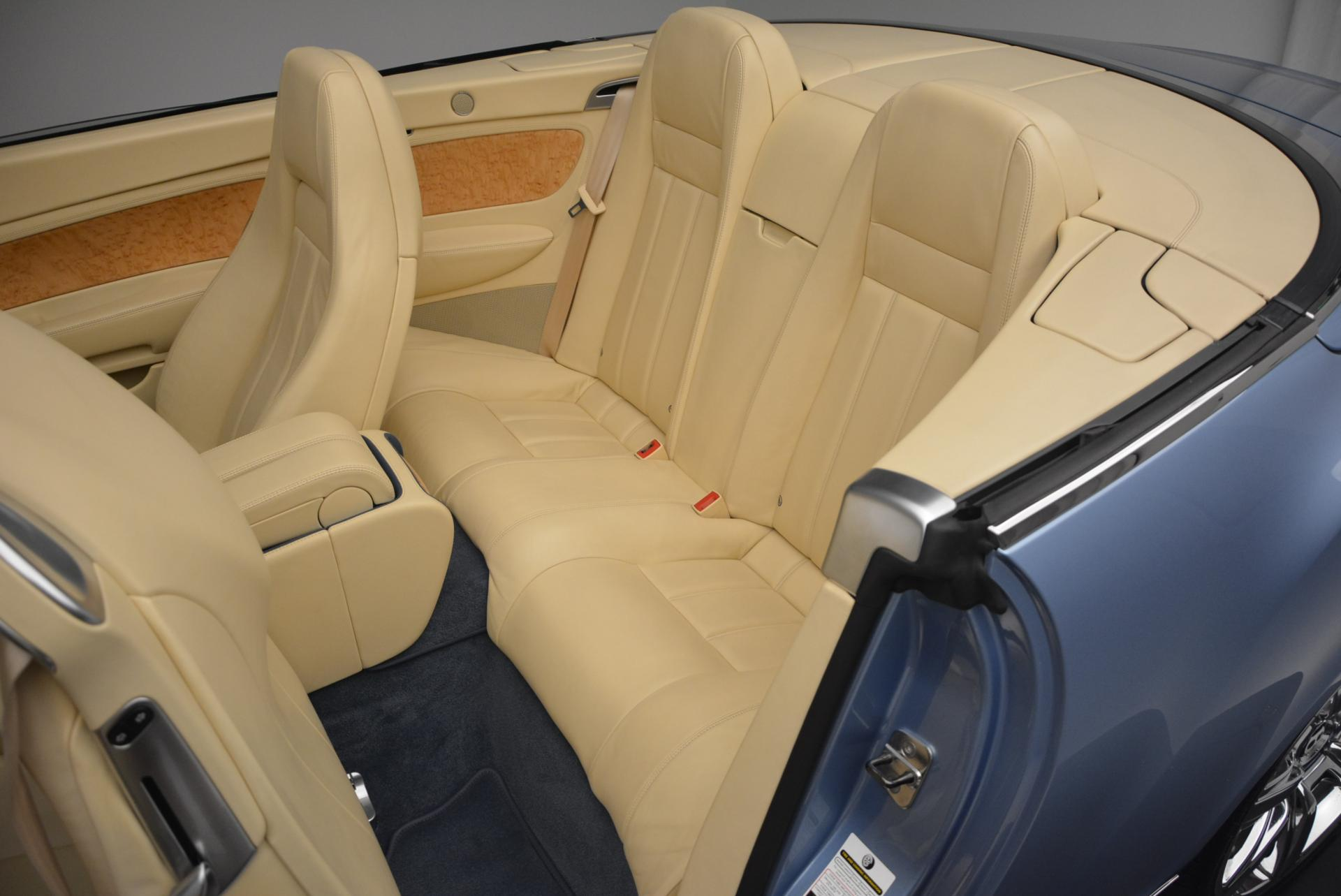 Used 2007 Bentley Continental GTC  For Sale In Greenwich, CT 495_p34