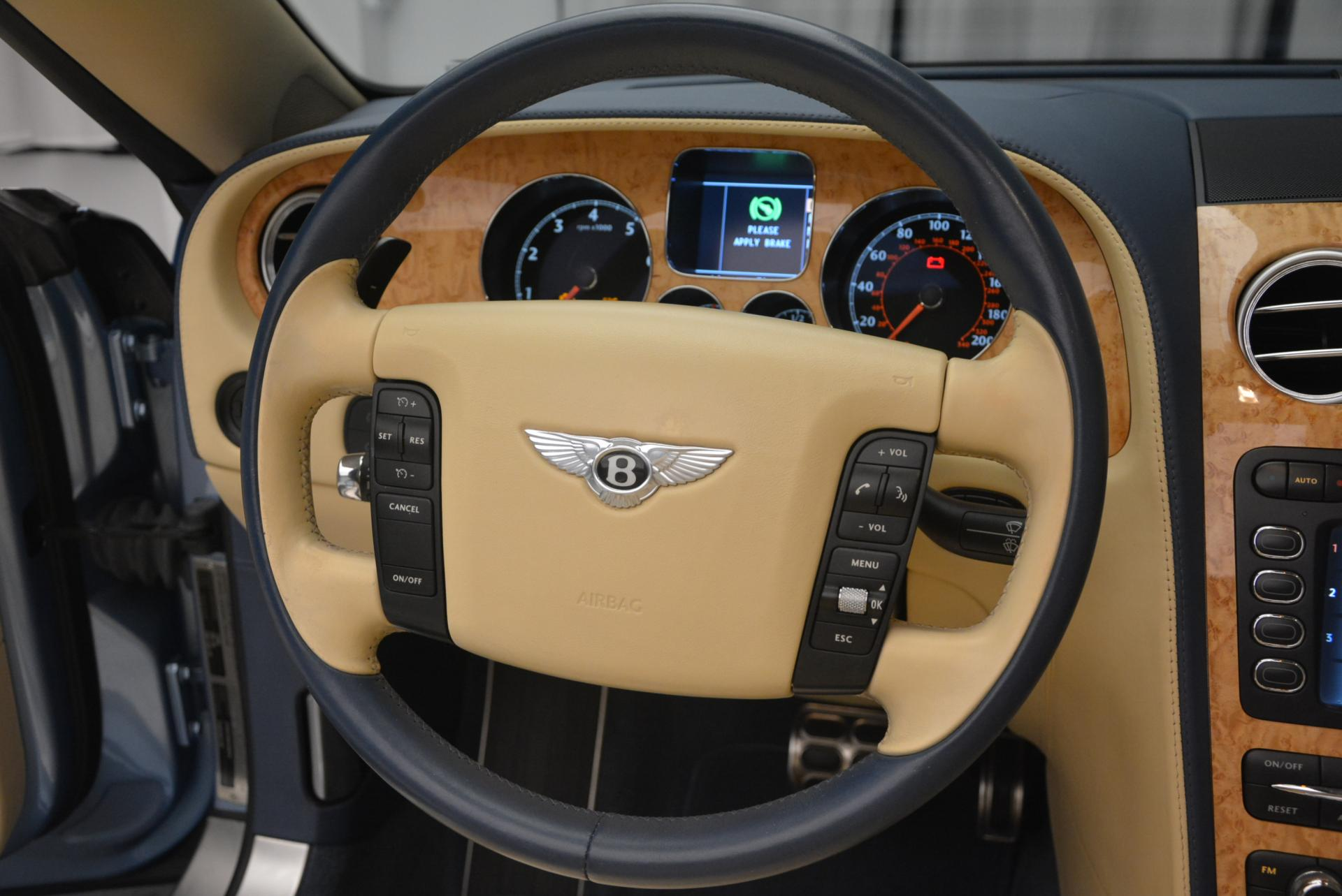 Used 2007 Bentley Continental GTC  For Sale In Greenwich, CT 495_p40