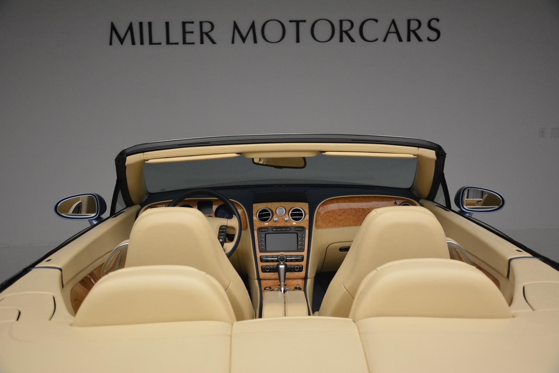 Used 2007 Bentley Continental GTC  For Sale In Greenwich, CT 495_p45