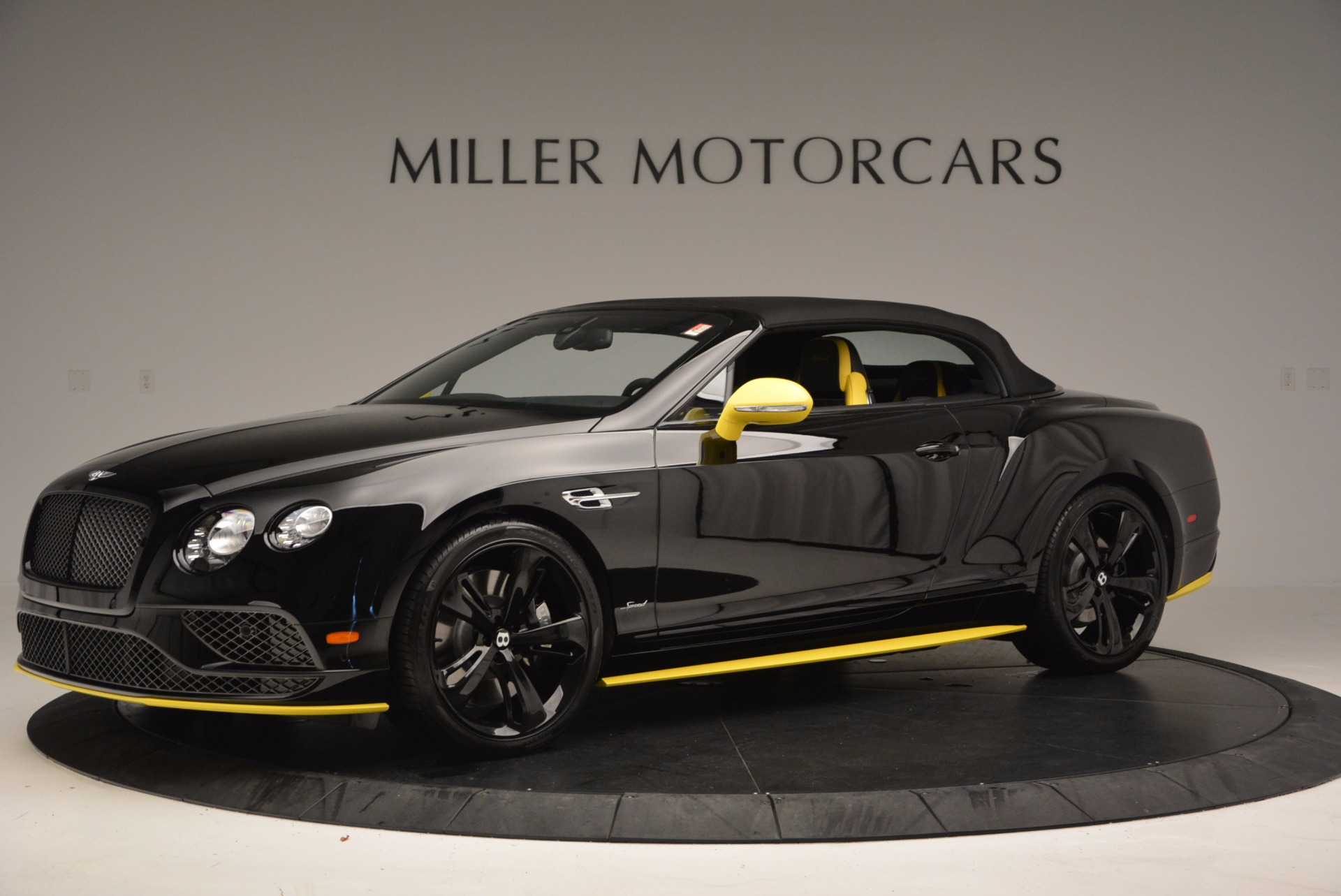 New 2017 Bentley Continental GT Speed Black Edition Convertible  For Sale In Greenwich, CT 496_p11