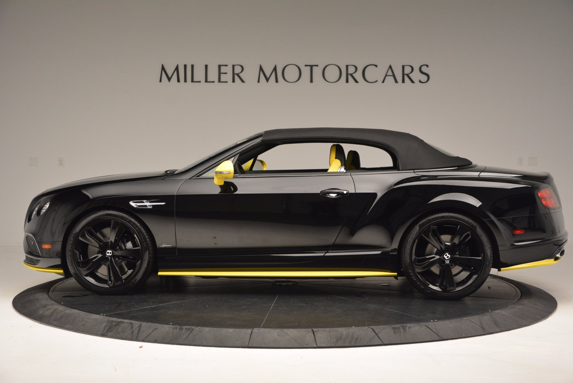 New 2017 Bentley Continental GT Speed Black Edition Convertible  For Sale In Greenwich, CT 496_p12