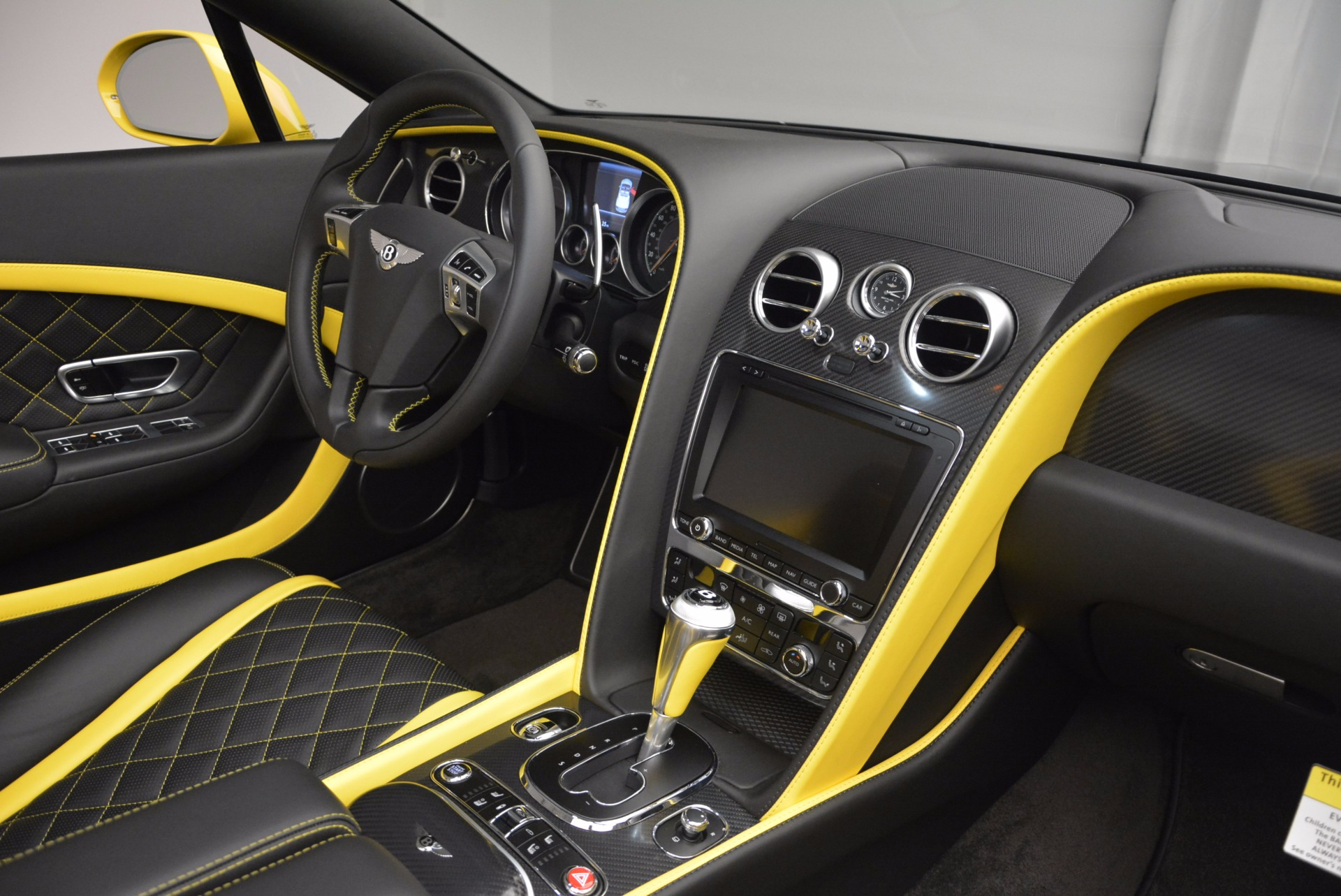New 2017 Bentley Continental GT Speed Black Edition Convertible  For Sale In Greenwich, CT 496_p26