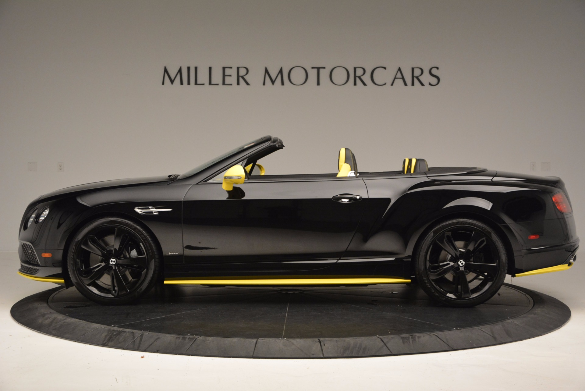 New 2017 Bentley Continental GT Speed Black Edition Convertible  For Sale In Greenwich, CT 496_p3